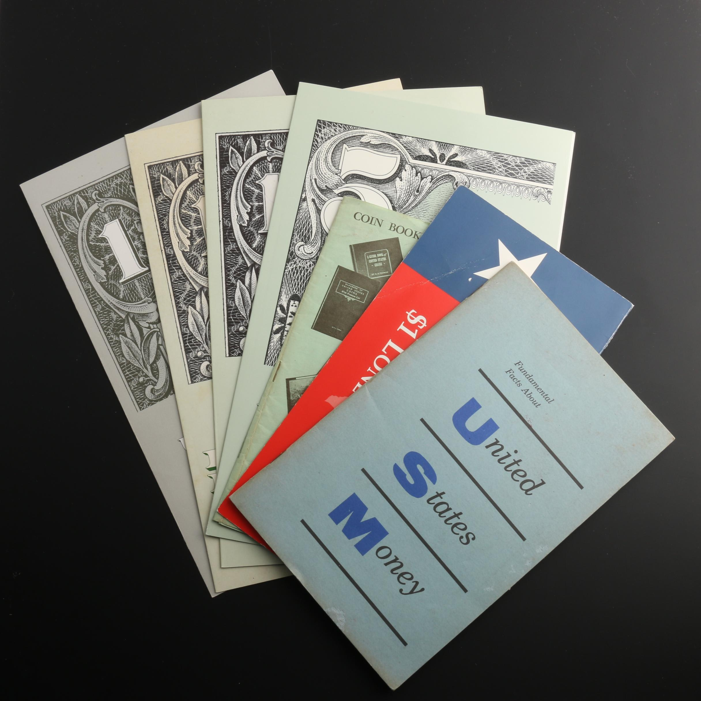 Assortment of U.S. Currency and Currency Booklets