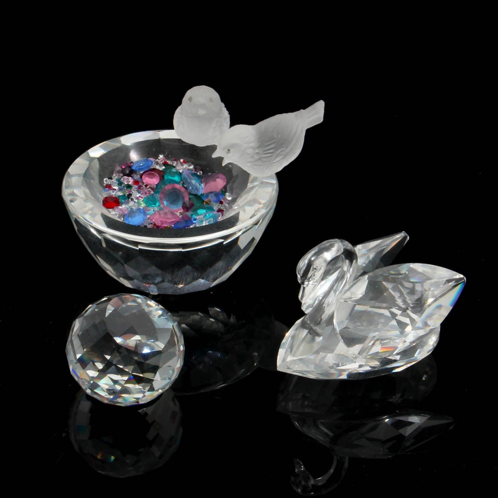 Swarovski Crystal Figurines and Paperweights