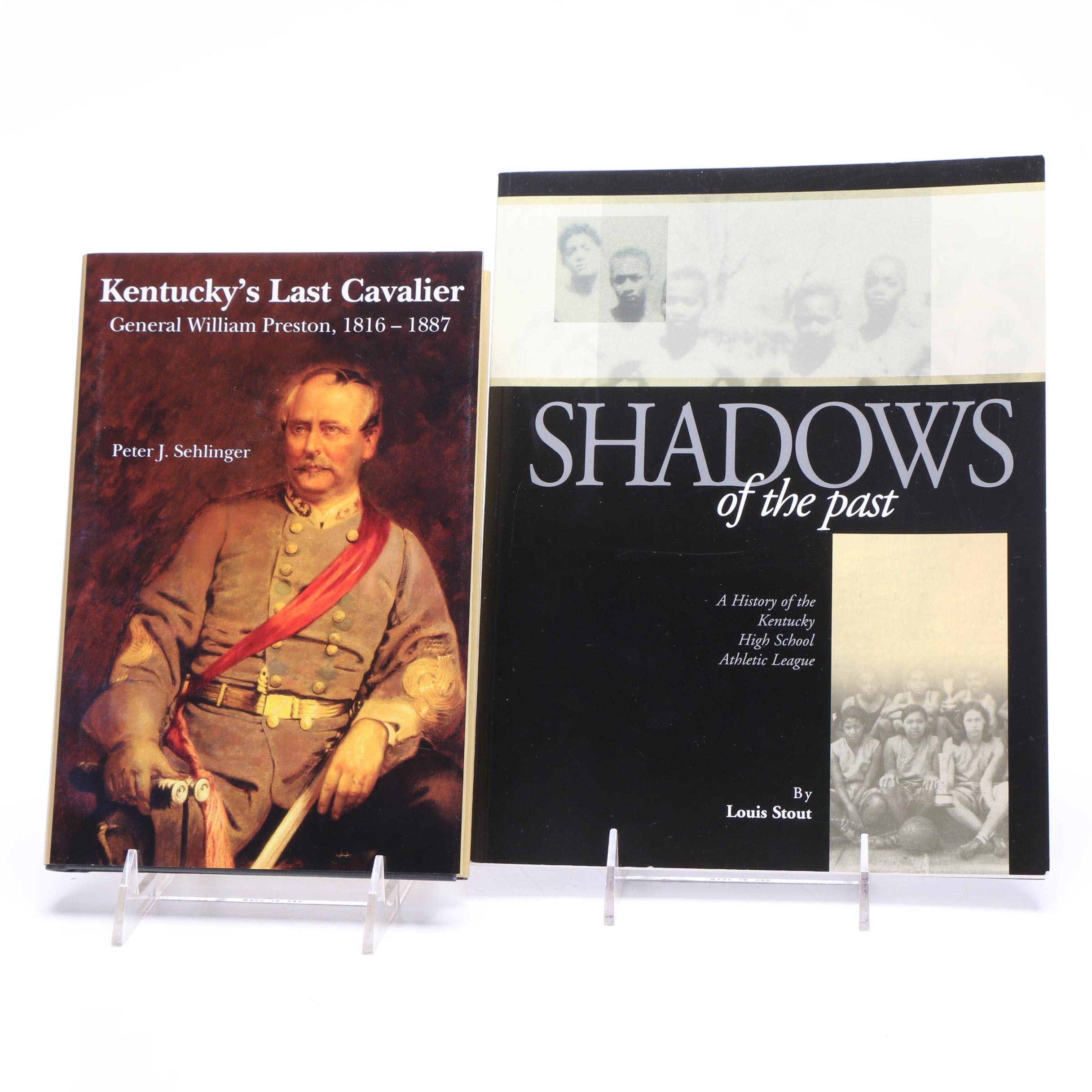 """Kentucky's Last Cavalier"" and ""Shadows of the Past"" Signed Books"