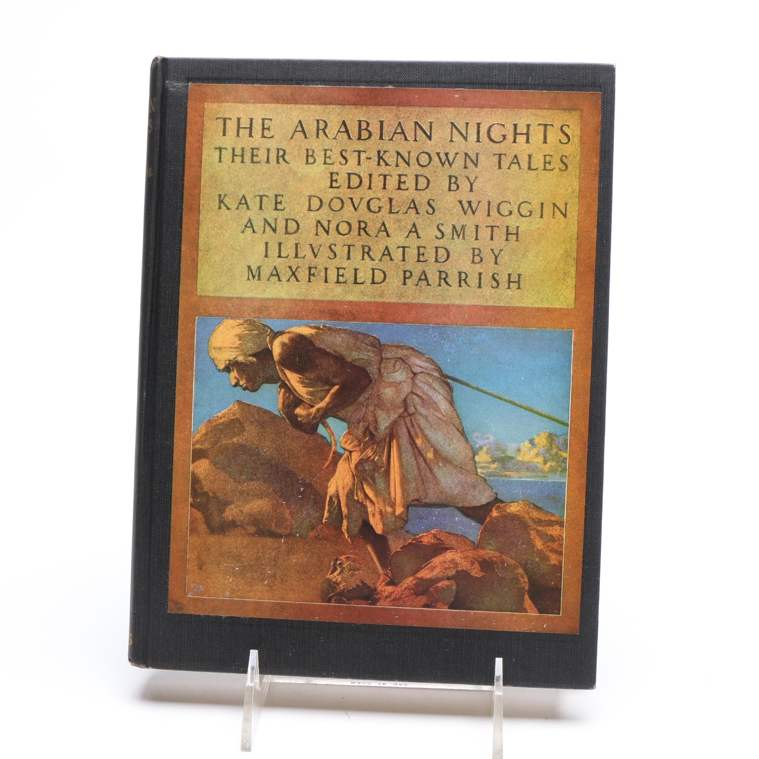 """Vintage """"The Arabian Nights"""" with Illustrations by Maxfield Parrish"""