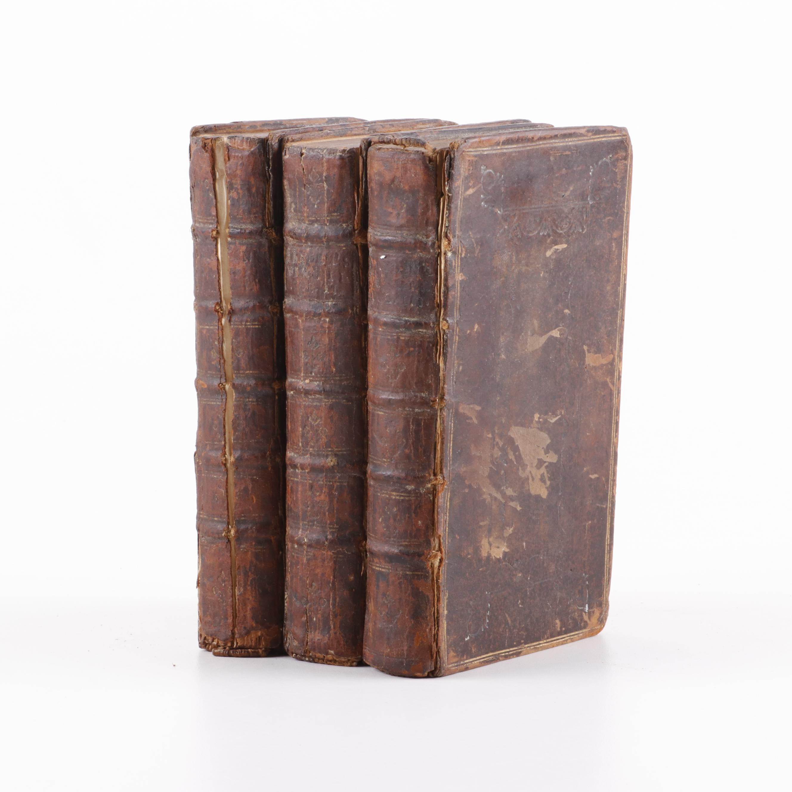 """""""The Works of Virgil"""" Translated by John Dryden in Three Volumes, 1730"""