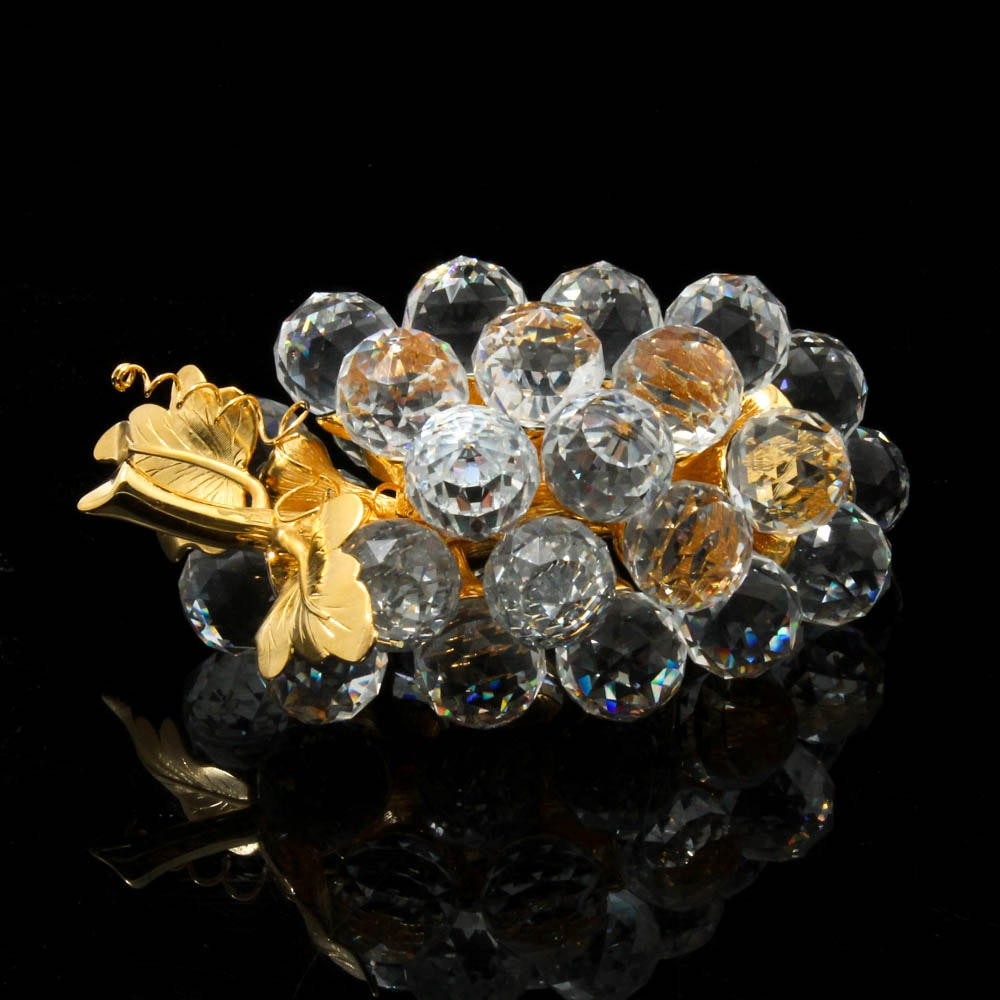 Swarovski Crystal Cluster of Grapes