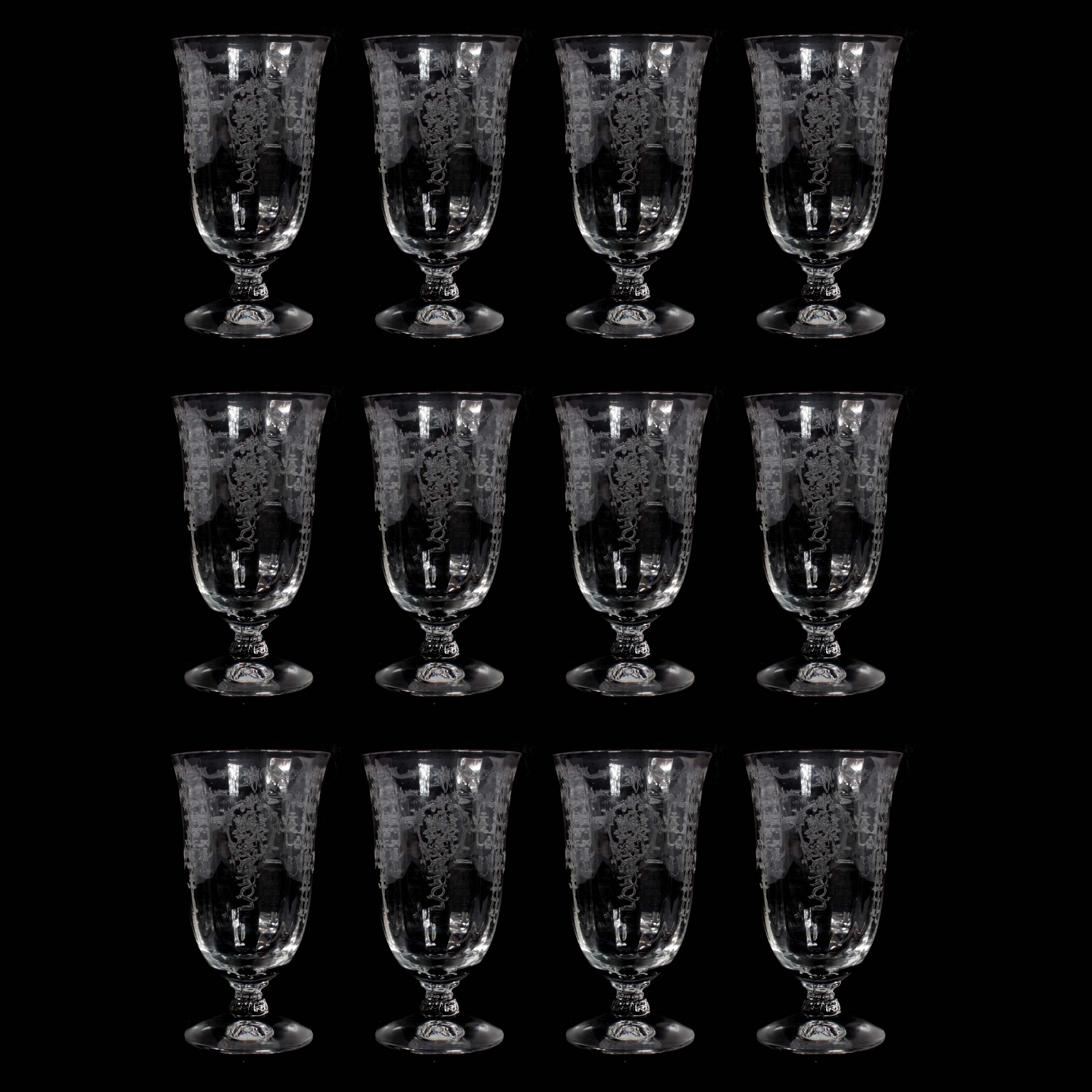 "Fostoria ""Navarre"" Juice Glasses"
