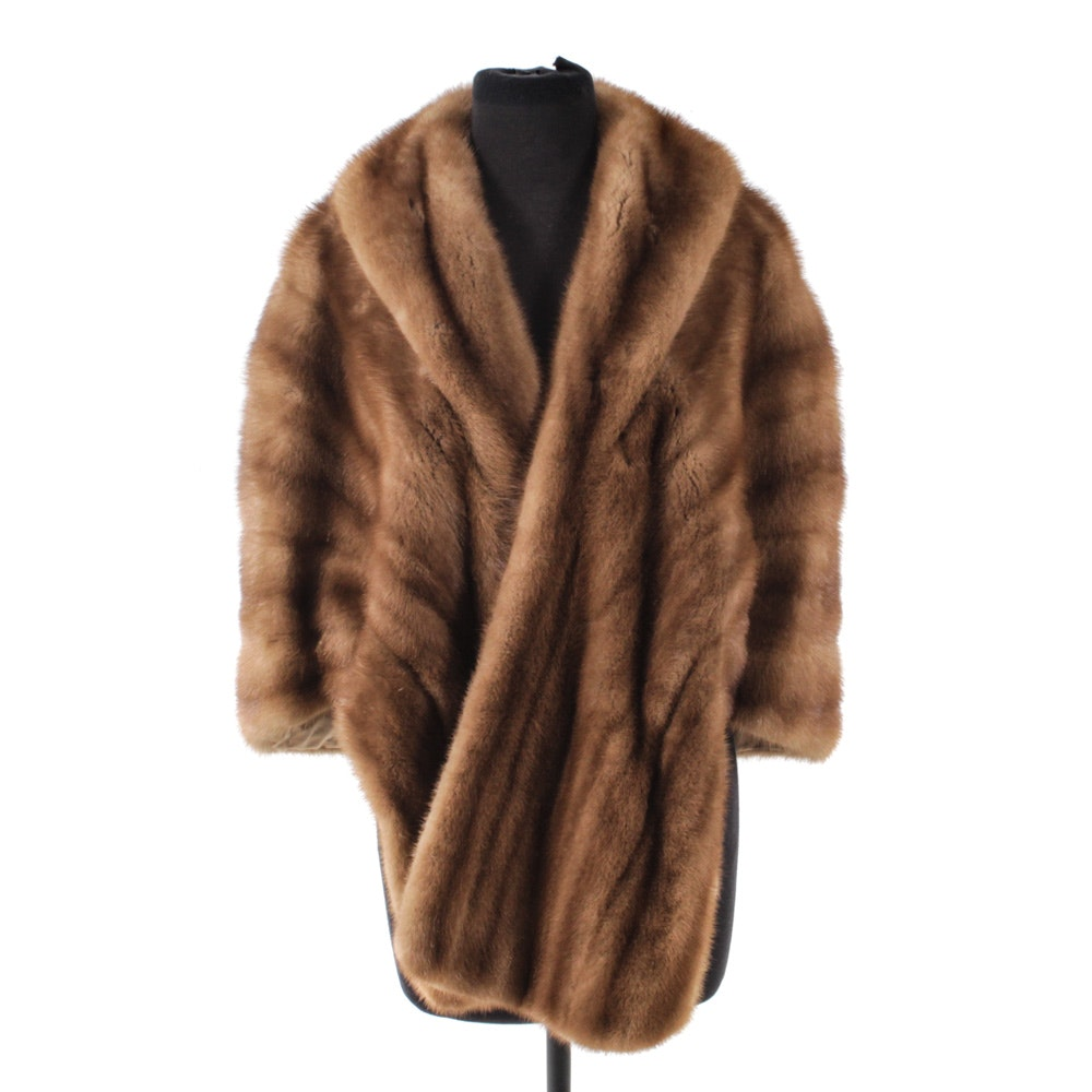 Vintage Lazarus Mink Fur Stole