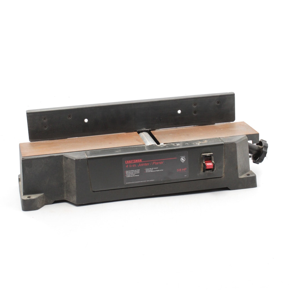 Craftsman 4 1/8-Inch Jointer and Planer