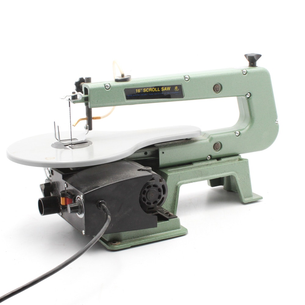 Central Machinery 16-Inch Scroll Saw