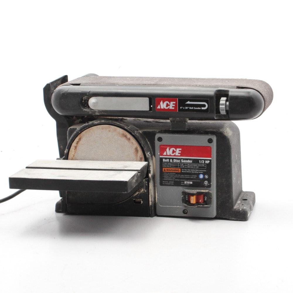 ACE Belt and Disc Sander