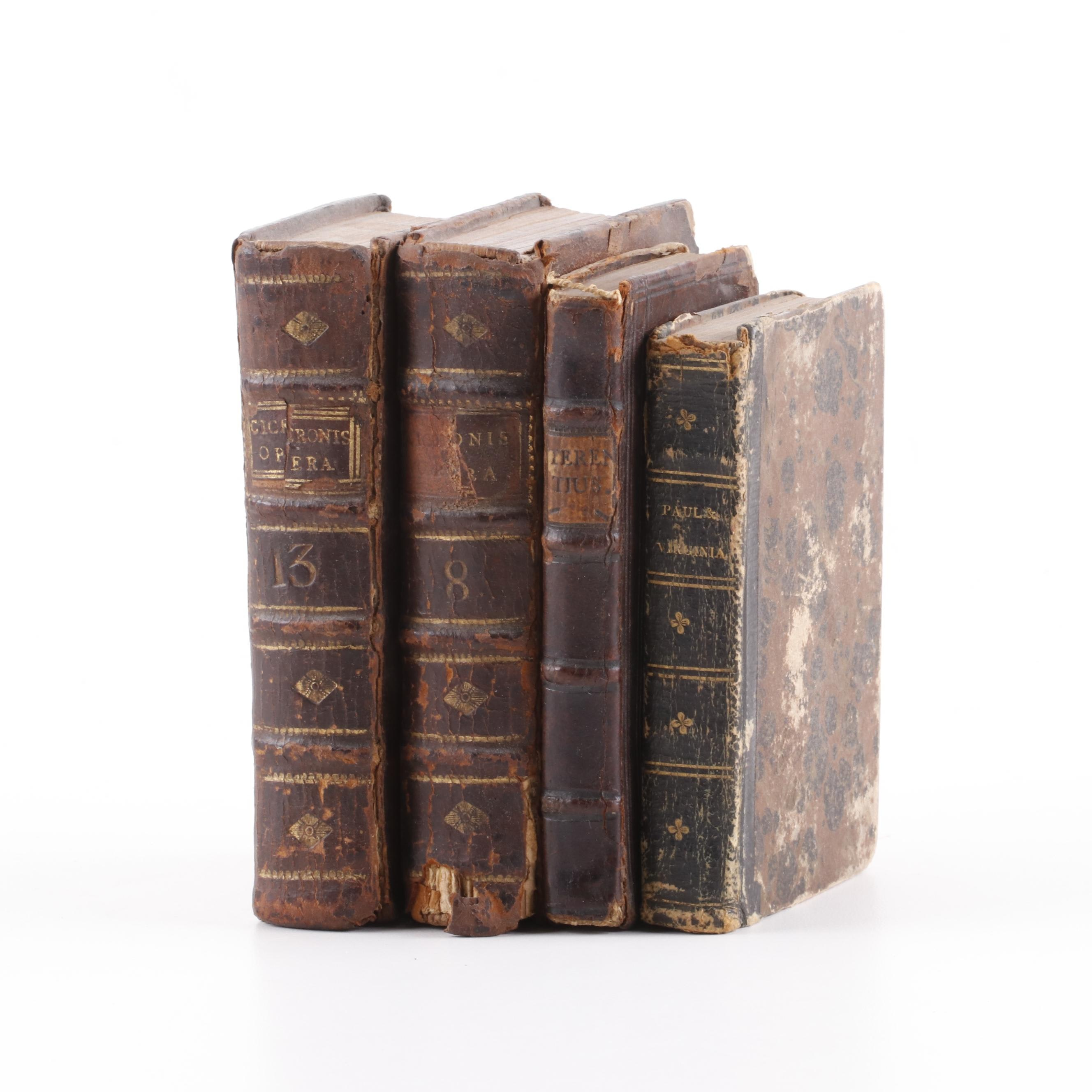 Pocket Books, Late 18th-Early 19th Century