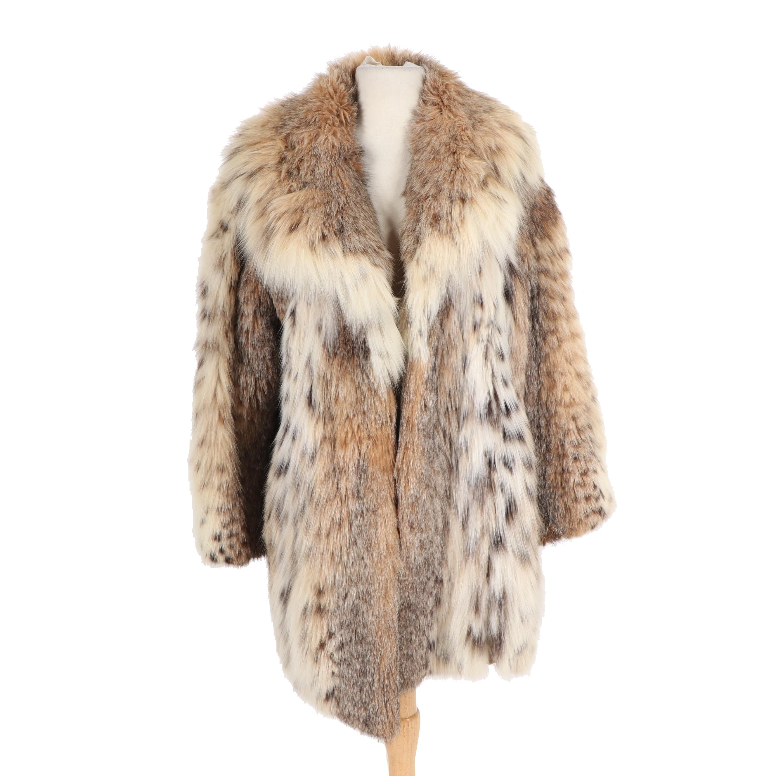 Women's Szor-Diener Canadian Lynx Fur Coat