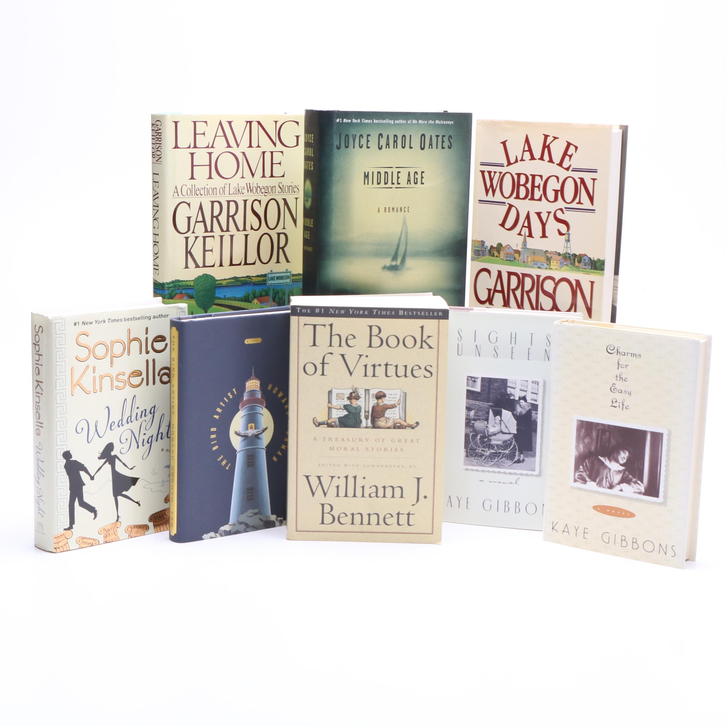 Selection of Fiction Books including Signed Editions