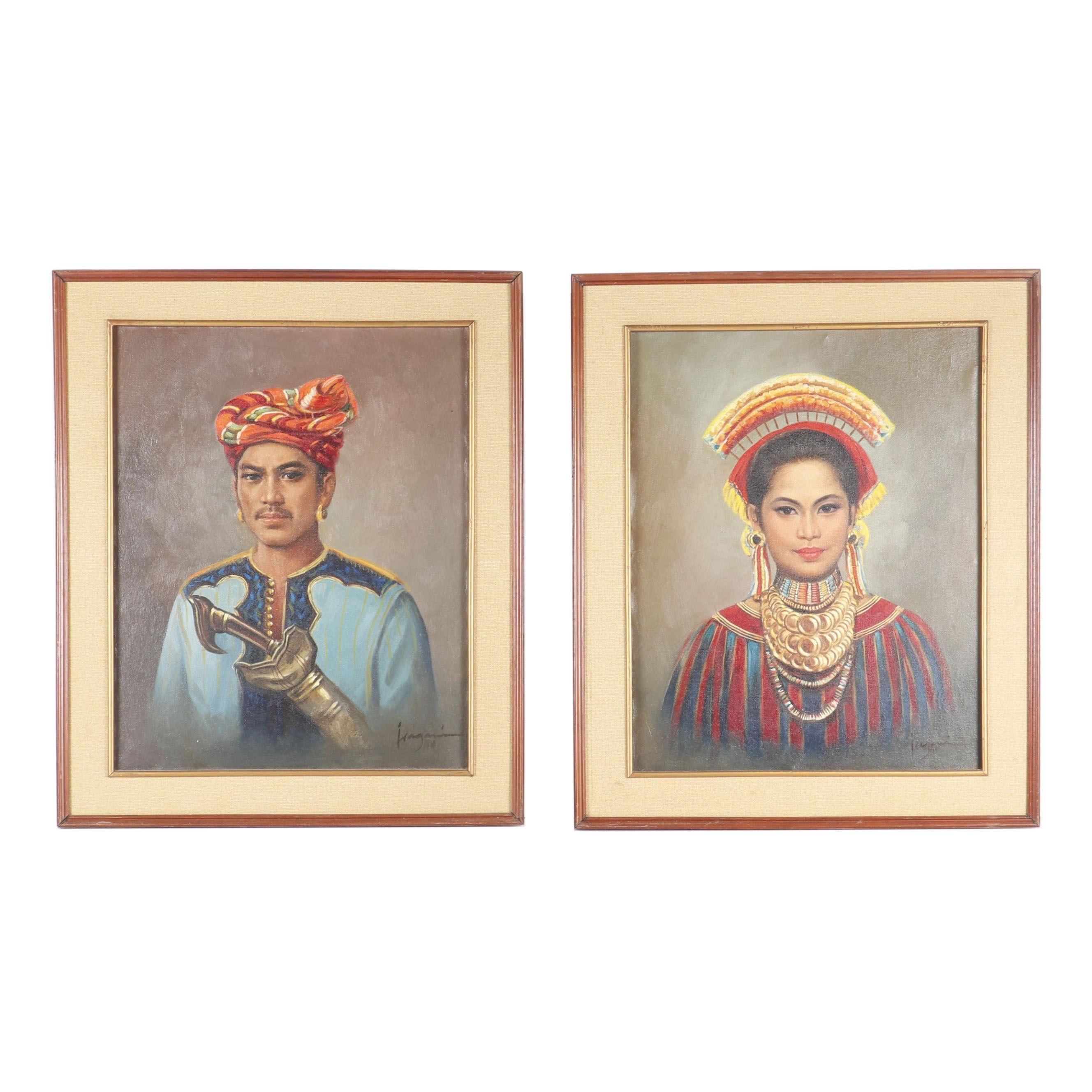 Portrait Oil Paintings