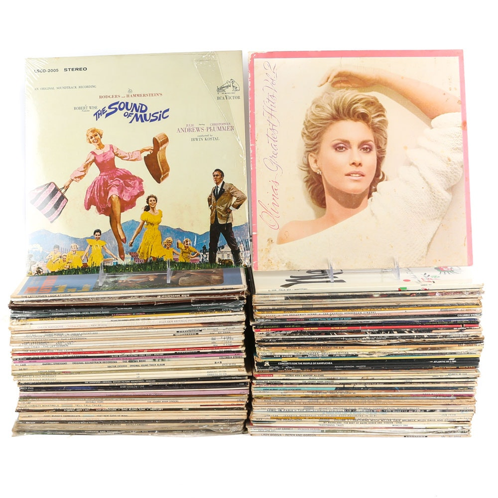 Olivia Newton-John, Bonnie Tyler, The Monkees and Other Vintage Records