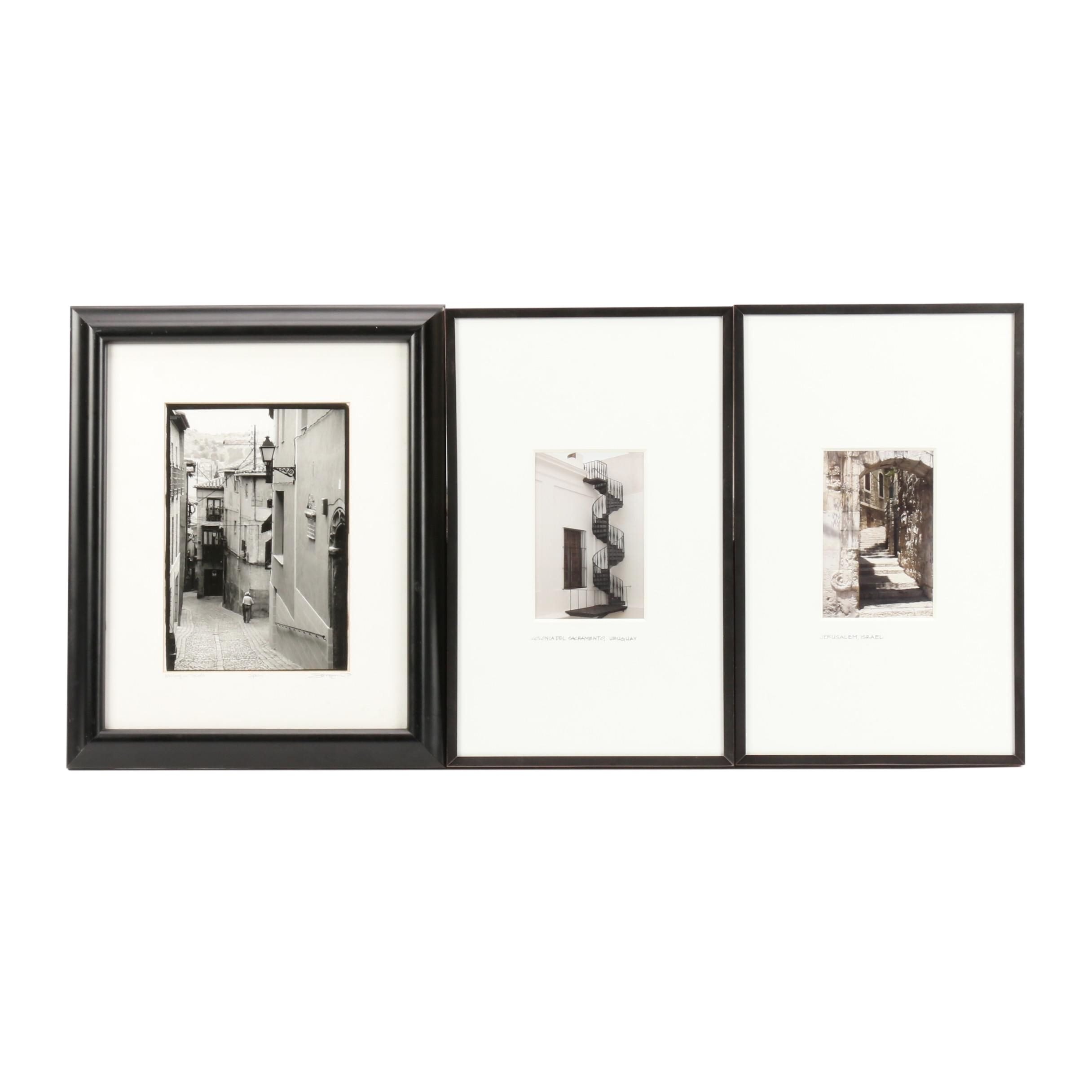 Silver Gelatin Photographs of Spain, Uruguay and Israel