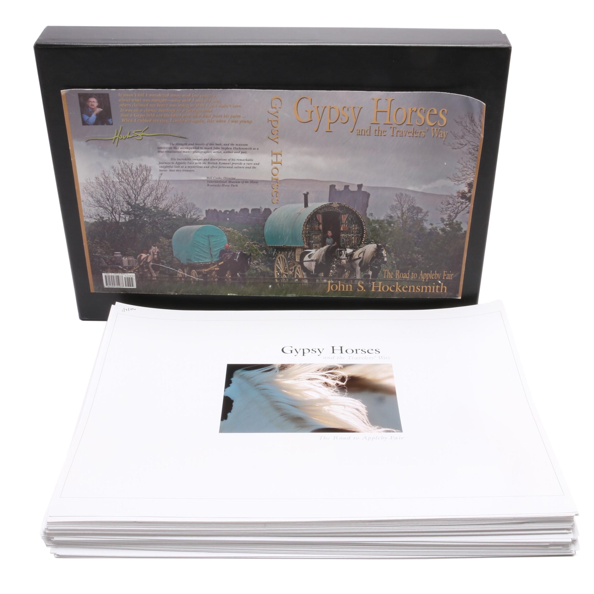 """""""Gypsy Horses and the Travelers' Way"""" Publisher's Proof with Archival Box"""