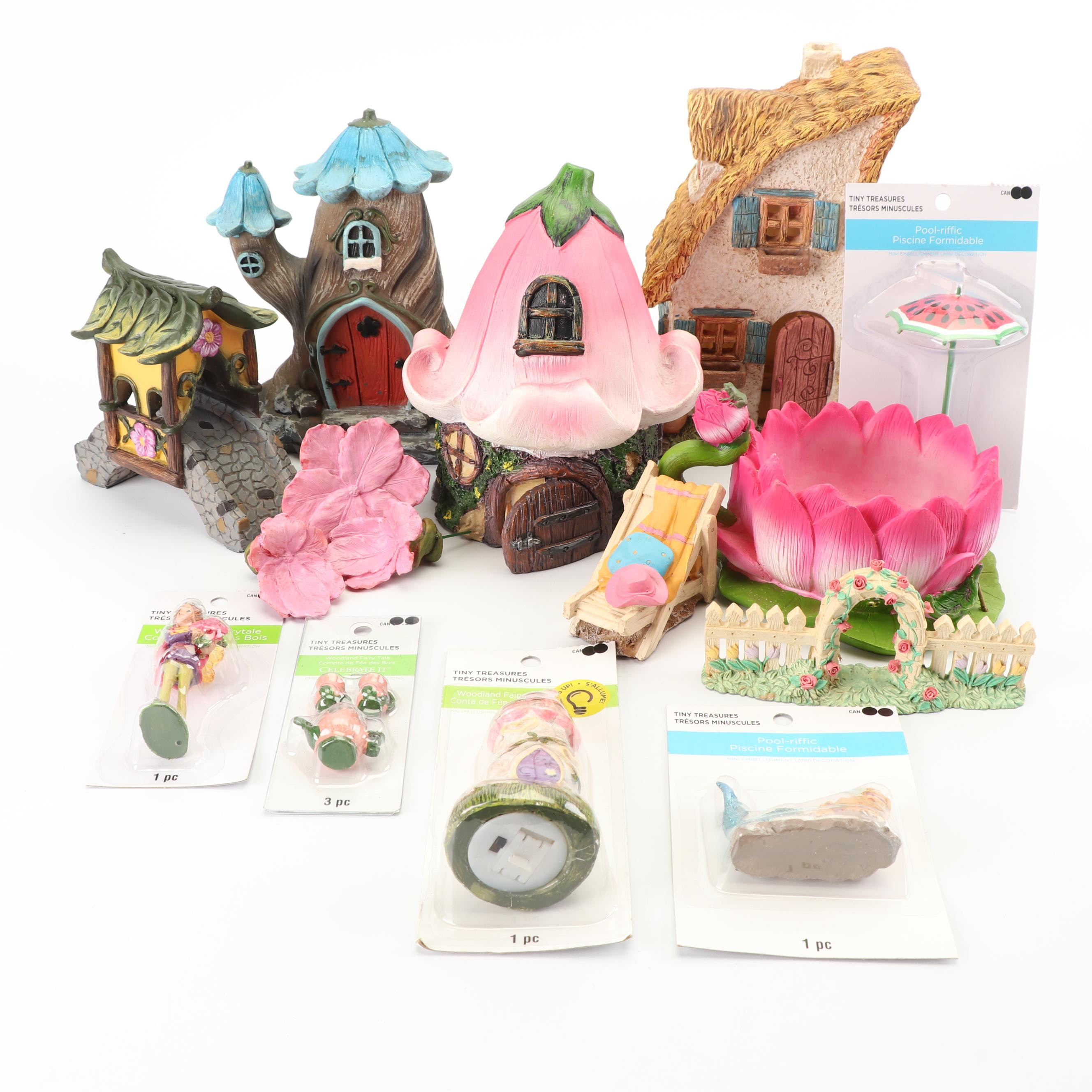 Resin Fairy Houses and Accessories