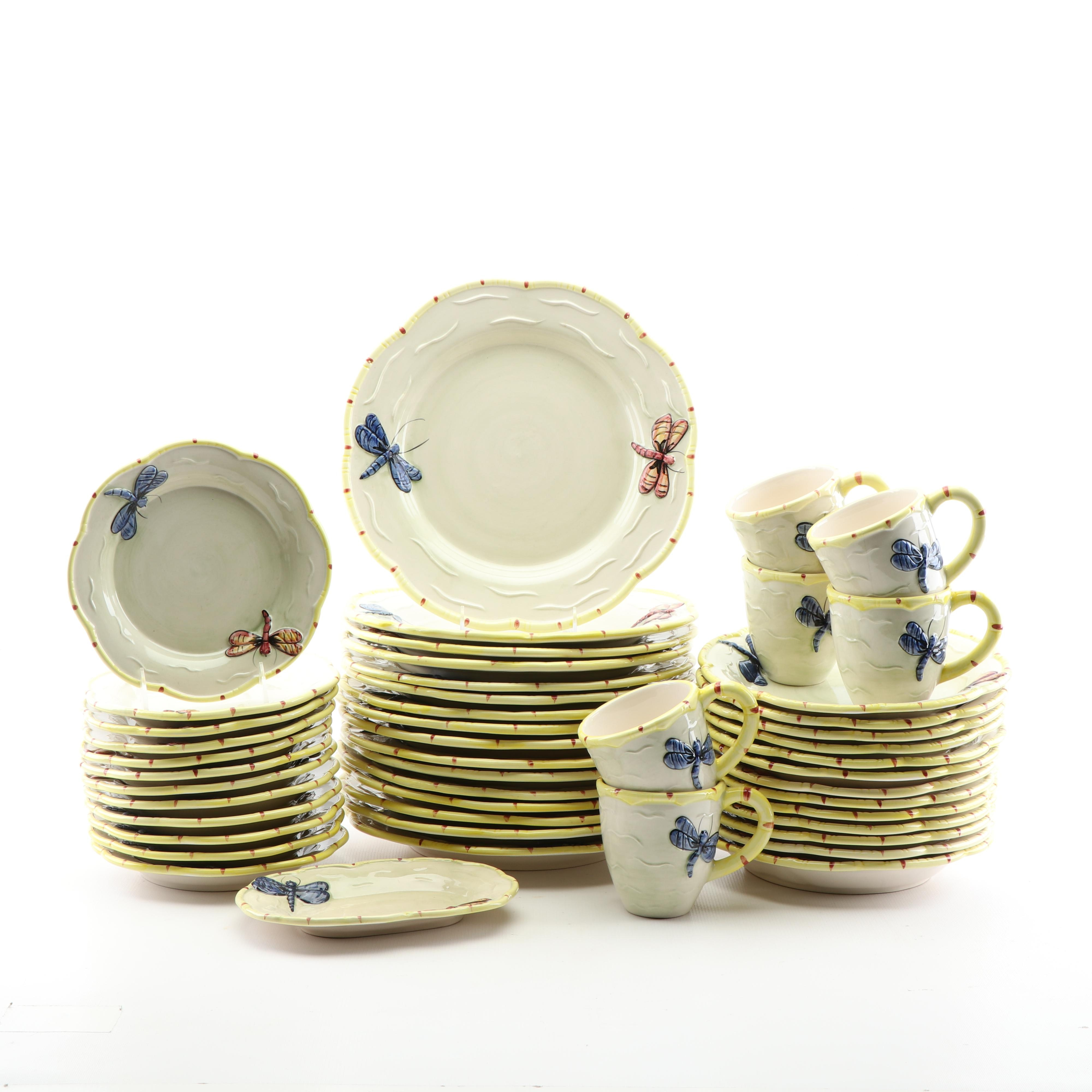 """The Essex Collection 'Pond Collection White"""" Dinnerware"""