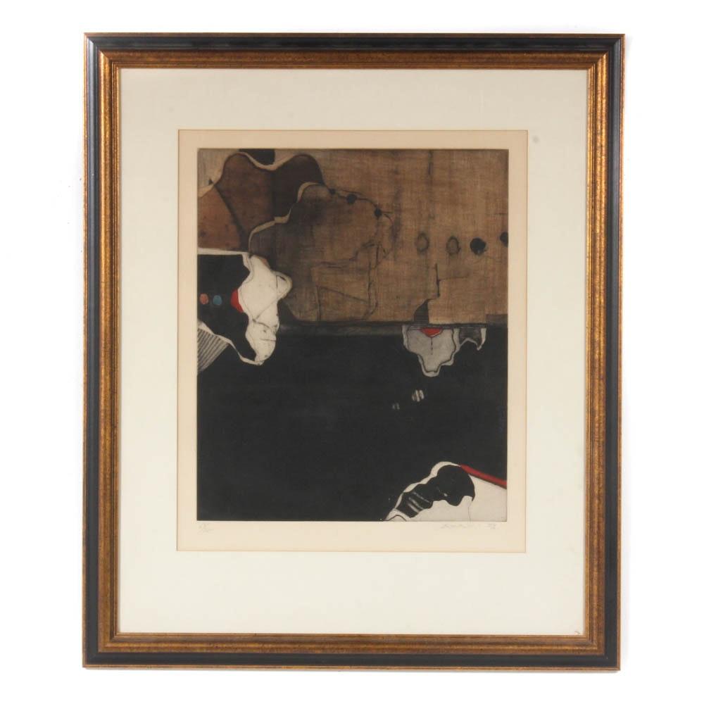 Tetsuo Araki Etching with Aquatint