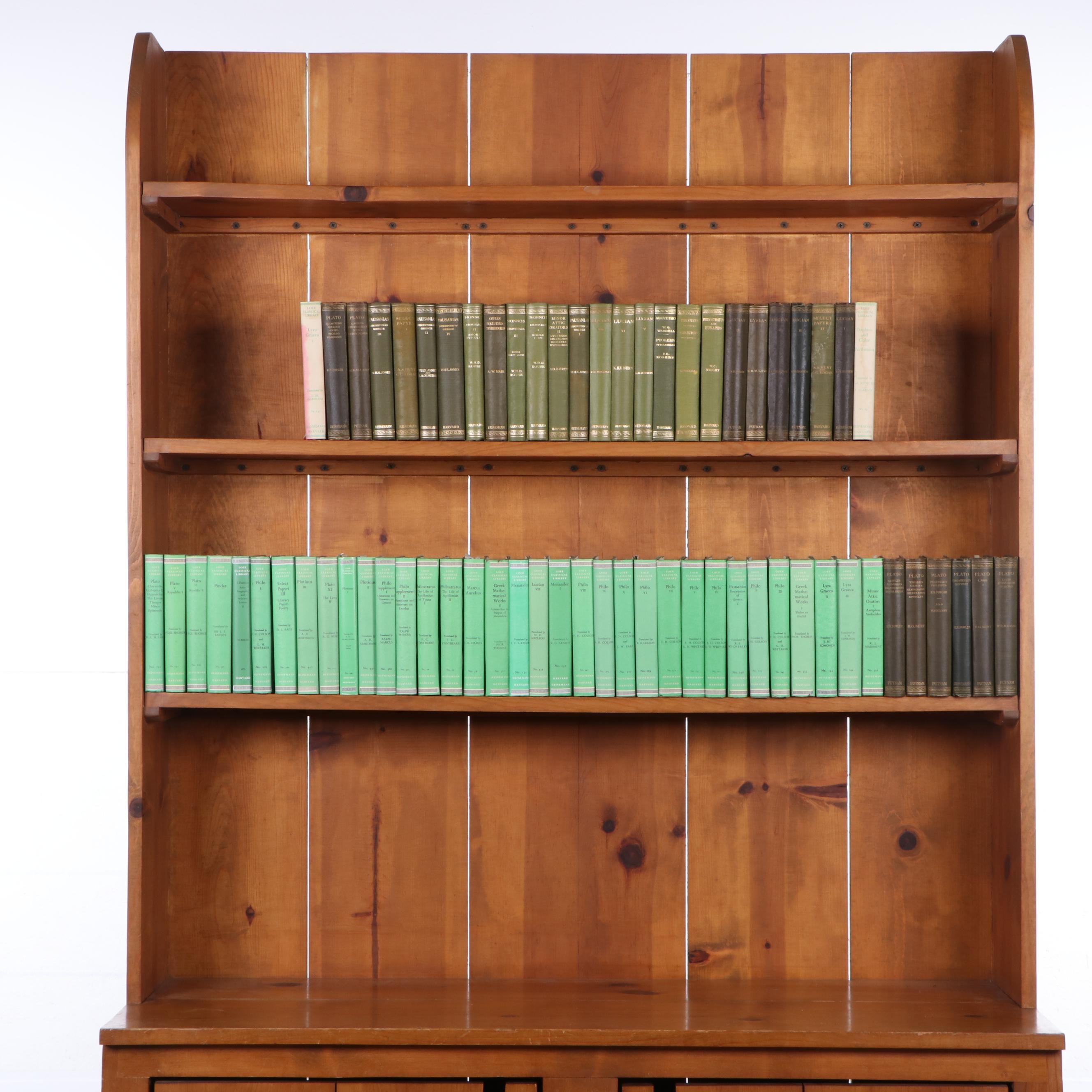 Loeb Classical Library Books on Greek History