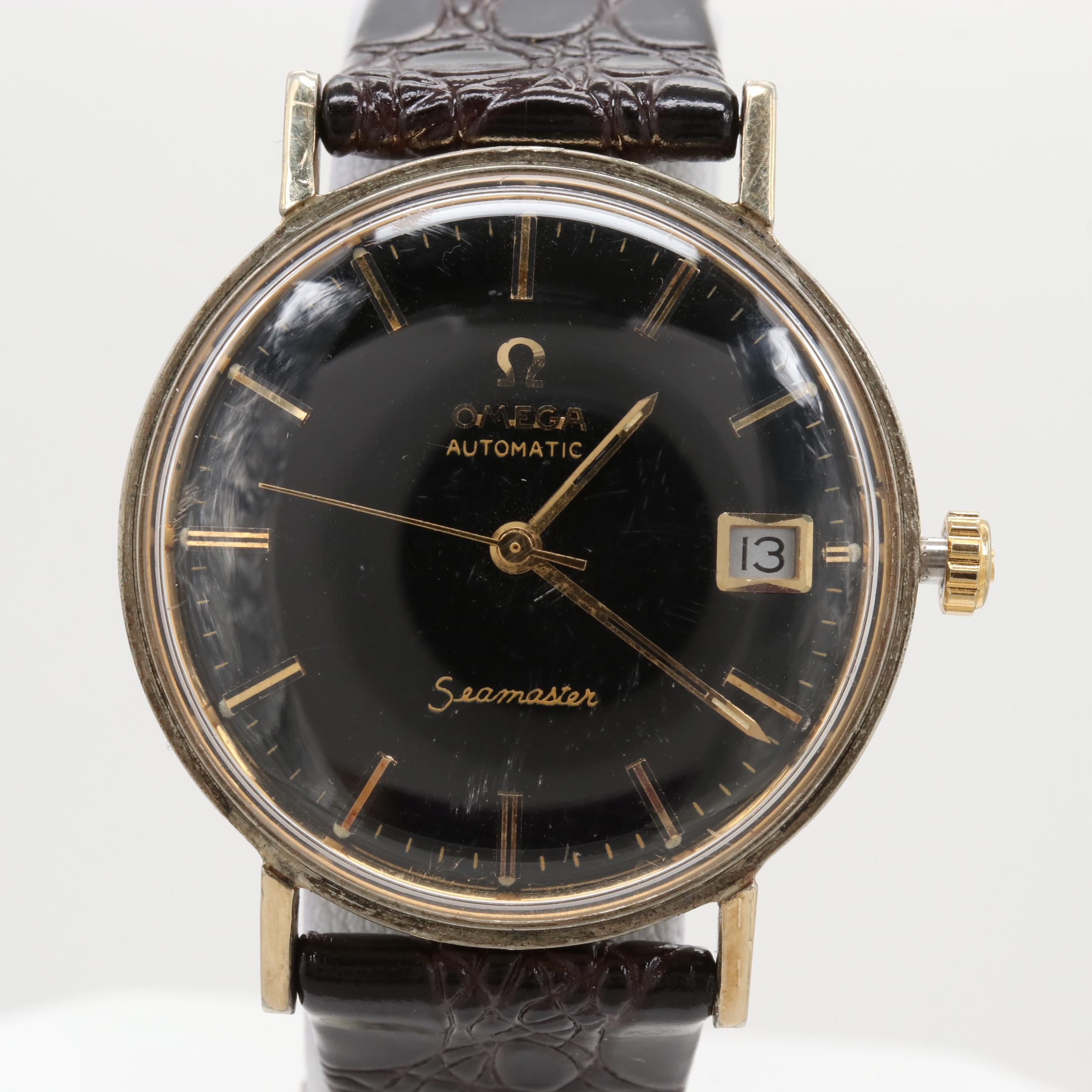 Vintage Omega Seamaster DeVille Gold Filled  Automatic Wristwatch, Circa 1968