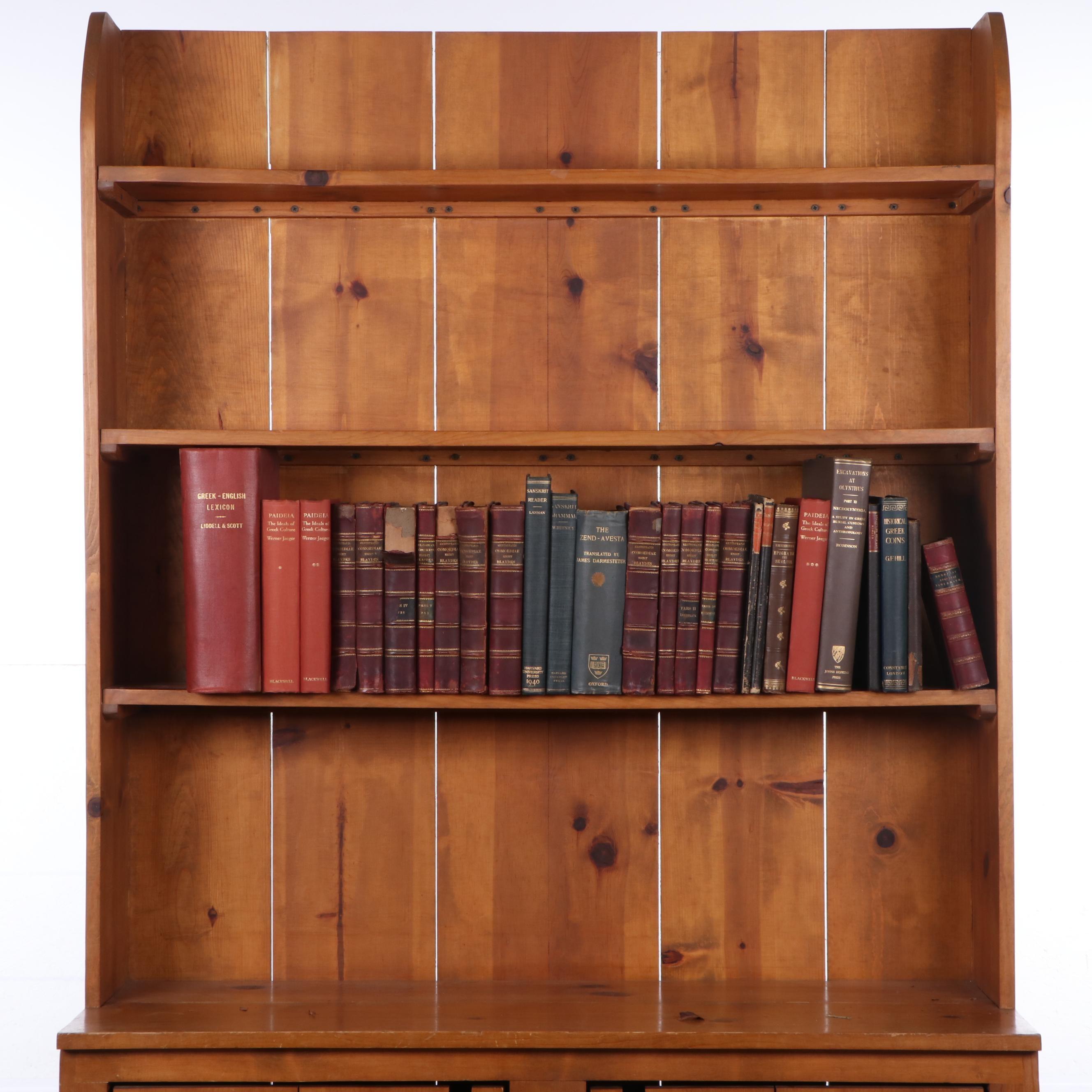 """Books on Classics and Ancient History Including """"Eudociae Augustae Violarium"""""""