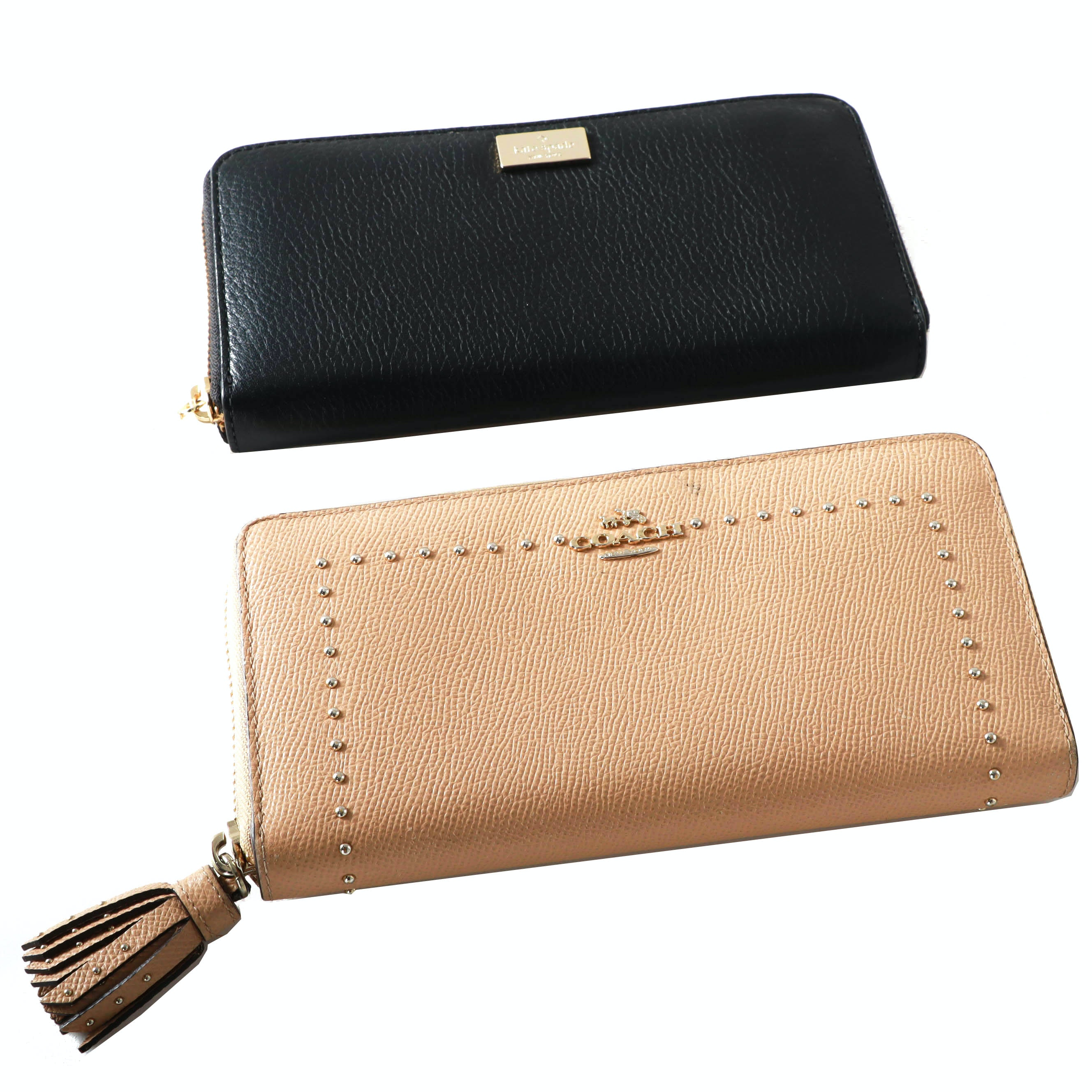 Kate Spade New York Clutch Wallet with Coach Clutch Wallet