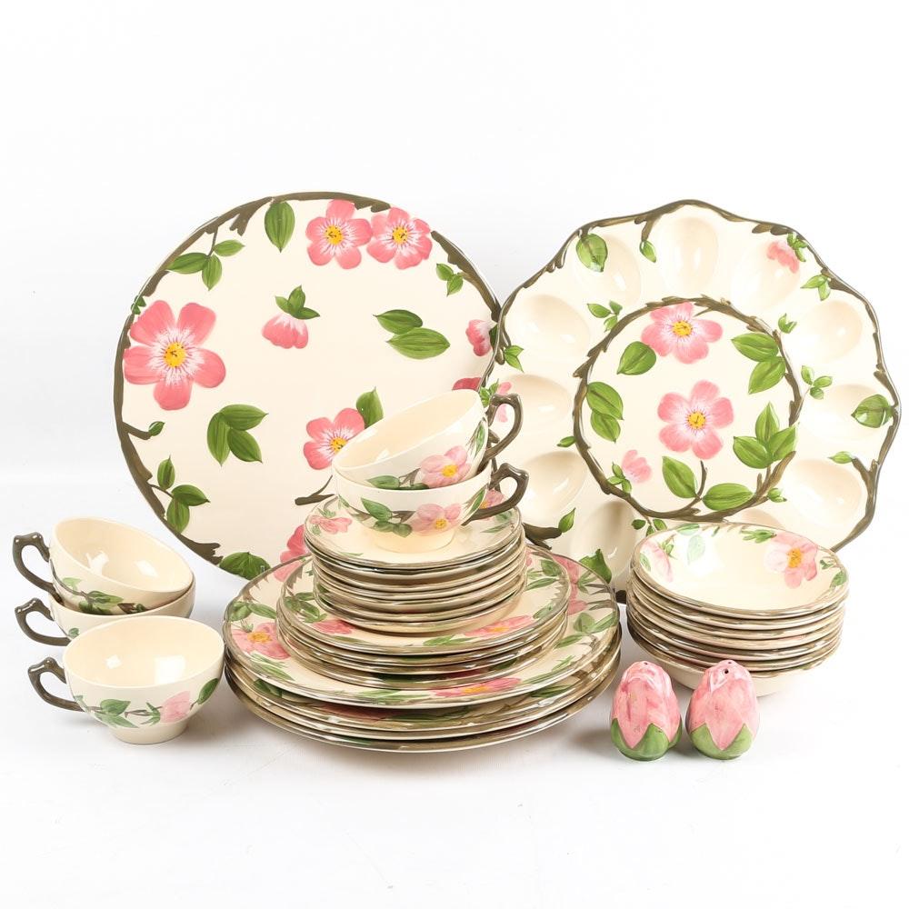"Franciscan ""Desert Rose"" Earthenware Tableware"