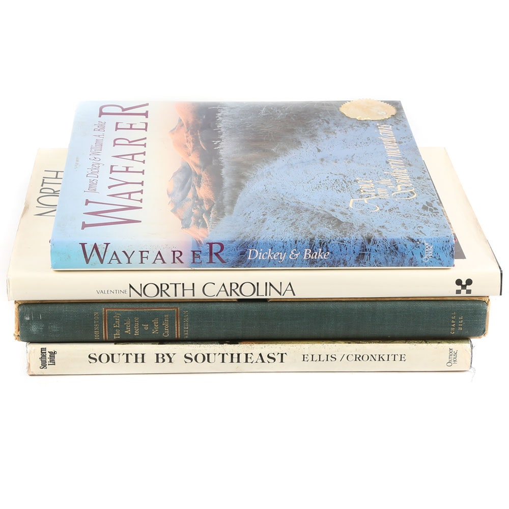 "North Carolina and Regional Books Featuring Signed First Edition ""Wayfarer"""