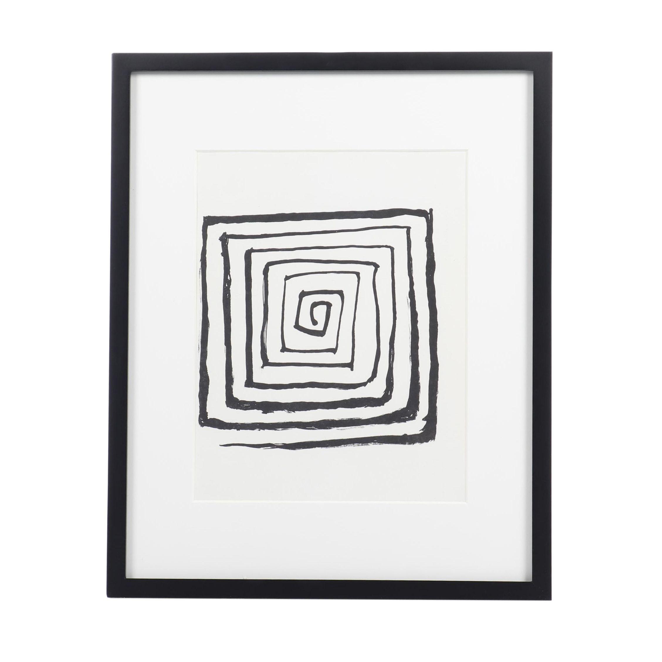 """Alexander Calder Lithograph for """"Derrière le Miroir"""""""