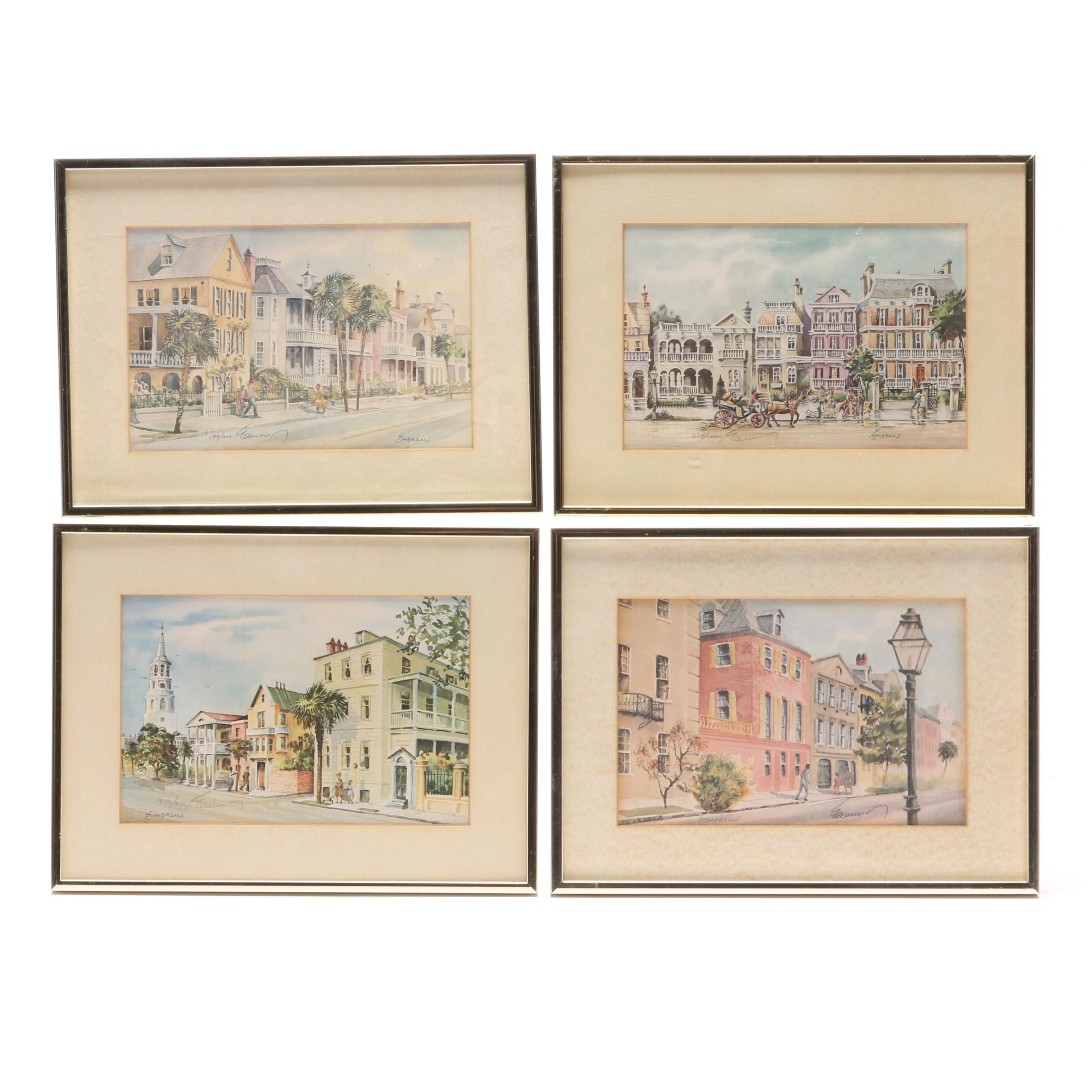 Edward Emerson Limited Edition Offset Lithographs