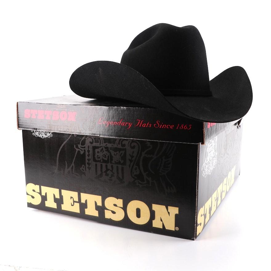 3f54eeef11668 Men s Stetson Beaver Felt Cowboy Hat   EBTH
