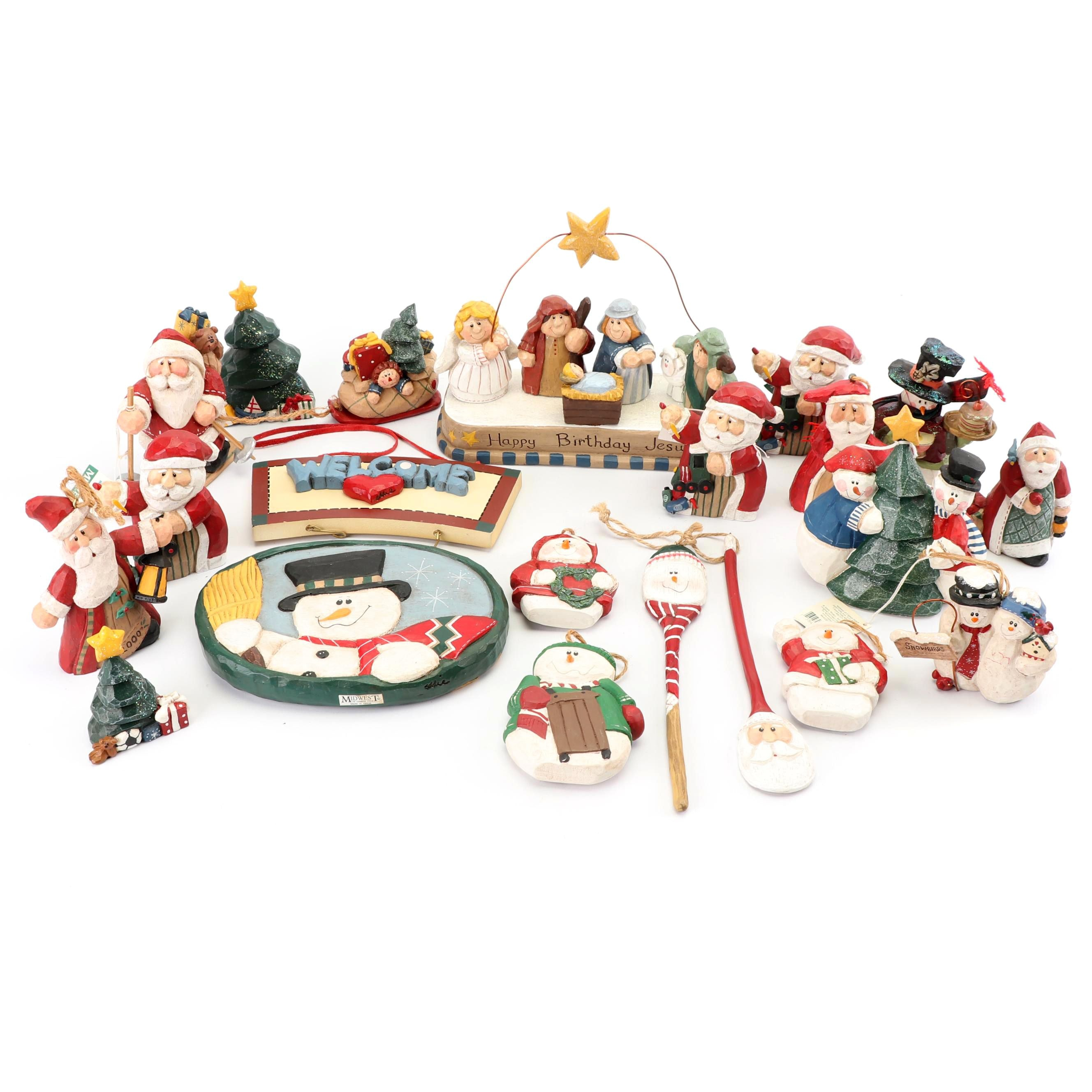 Christmas Ornaments and Table Decor