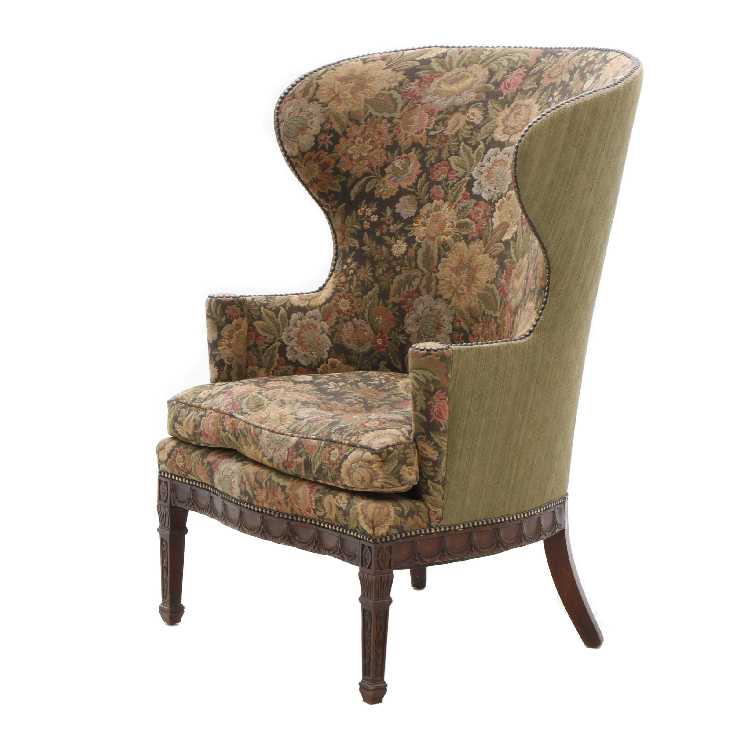 Adams Style Wingback Armchair