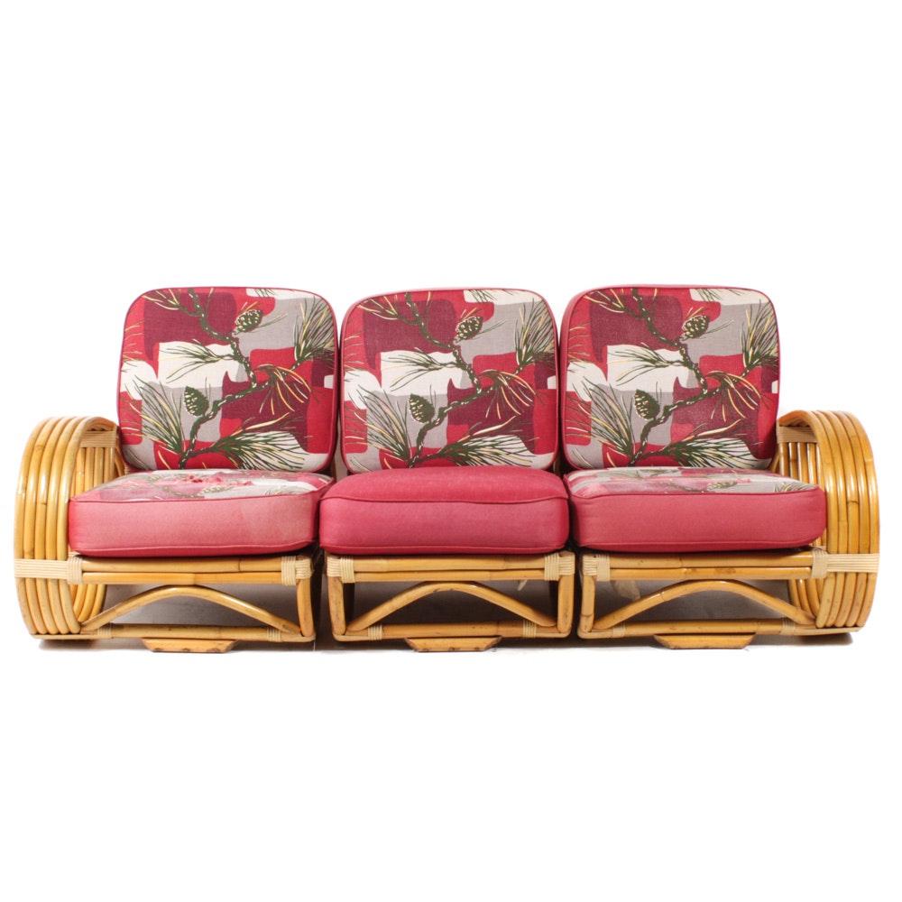 Bradston Rattan Three-Piece Sectional Sofa