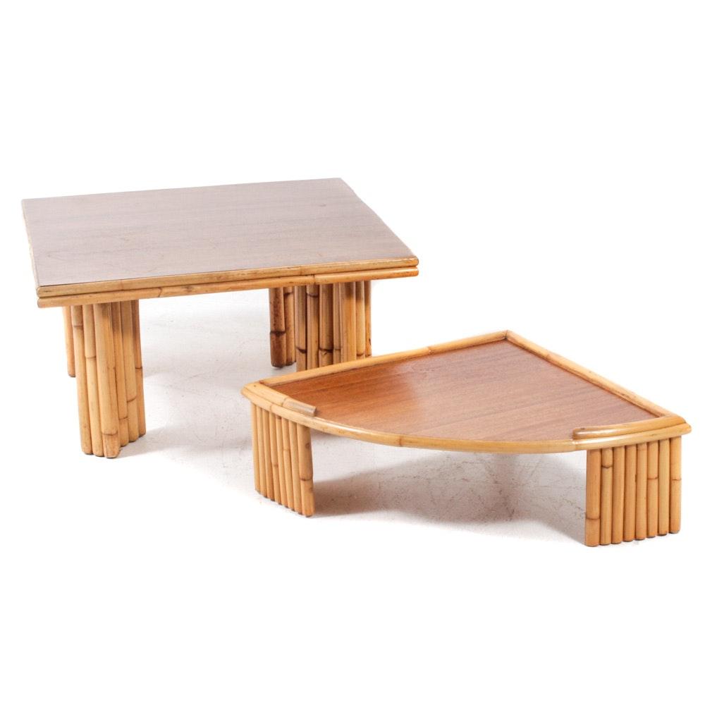 Ritts Co. Tropitan Coffee Table and Corner Table