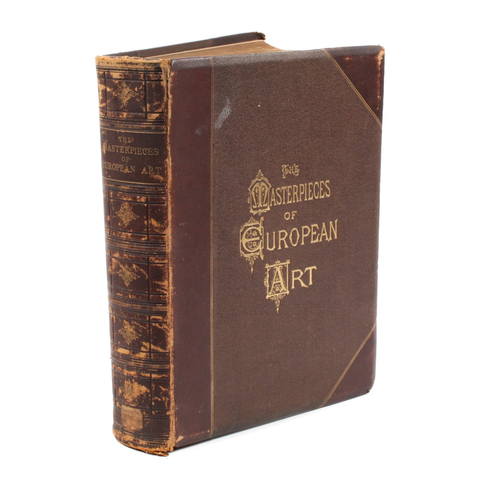 "1876 ""The Masterpieces of European Art"" by P.T. Sandhurst and James Stothert"