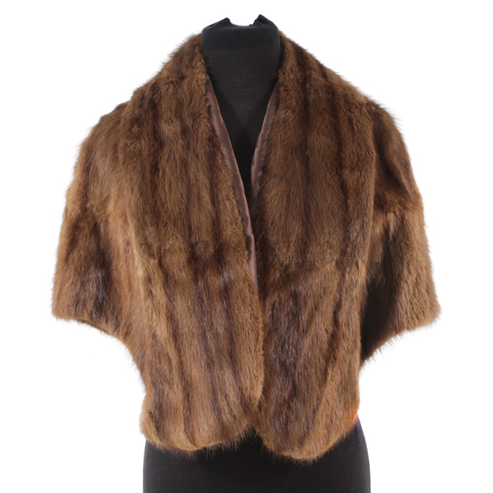 Marten Fur Stole by Louis Furriers and Designers