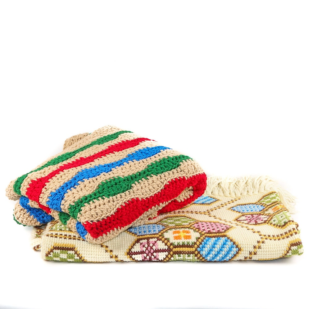 Hand Crocheted Afghans