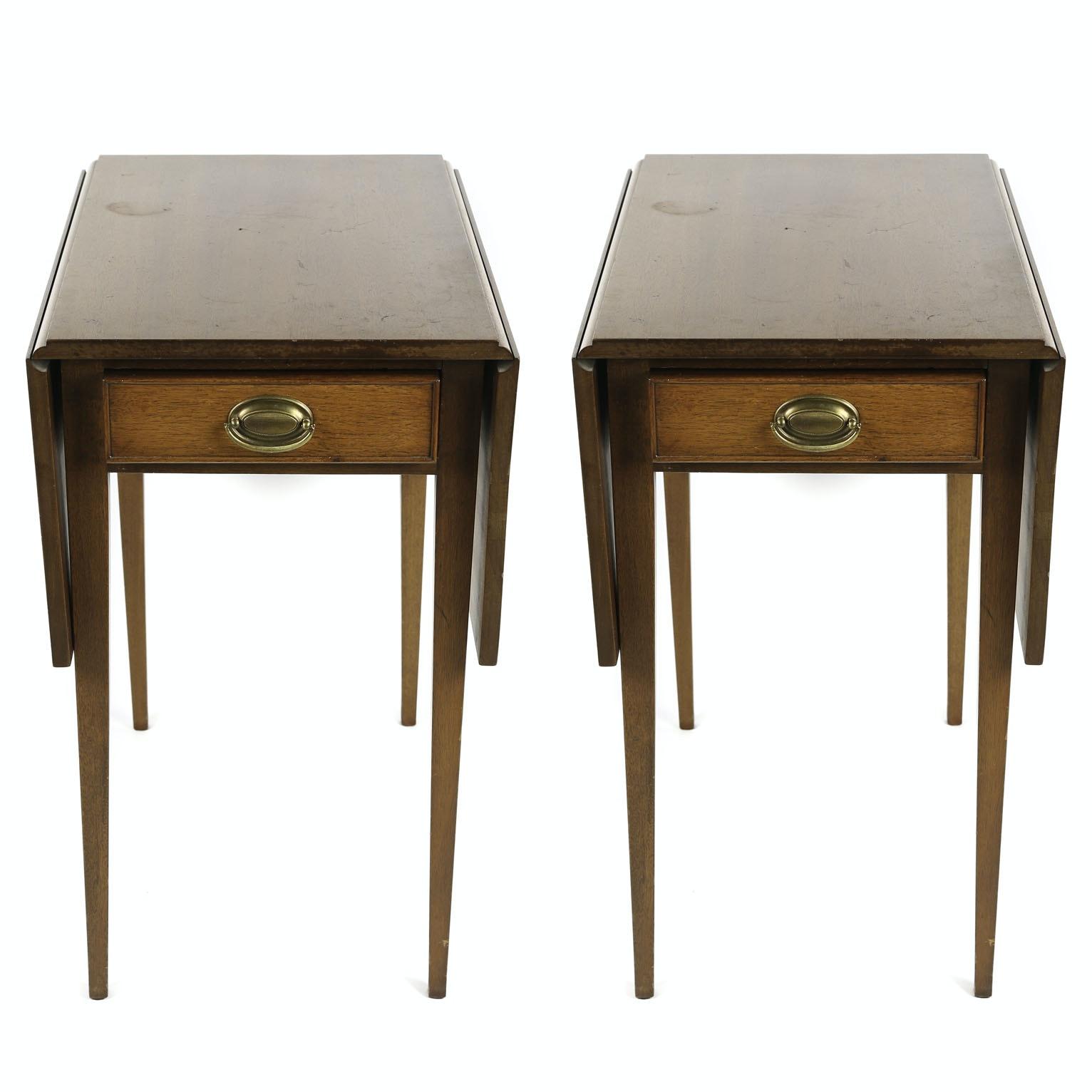 Federal Style Mahogany Pembroke Tables, 20th Century