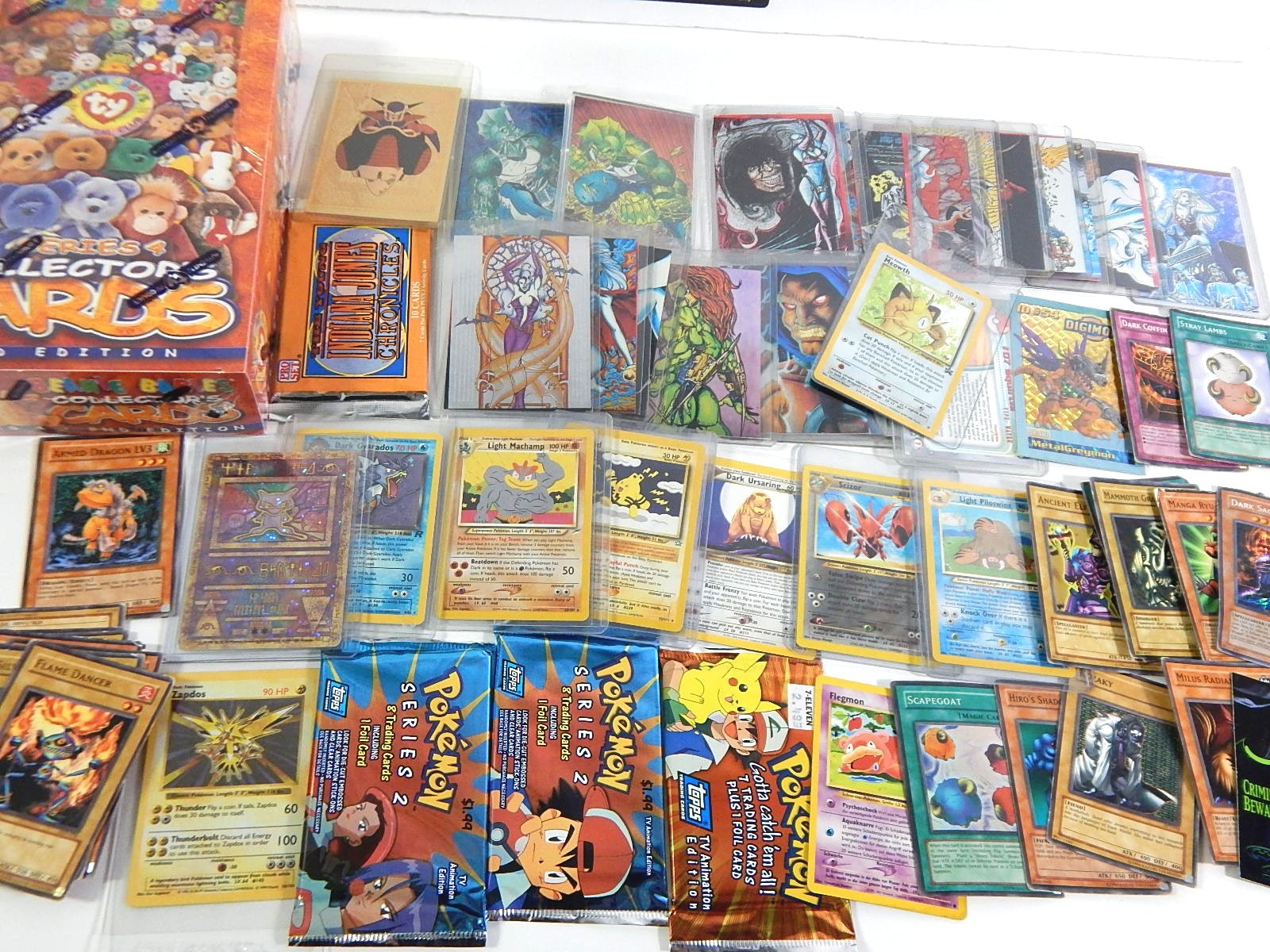Non-Sports Card Collection with Pokemon, Yu-Gi-Oh!, Dragon Ballz, Lady Death