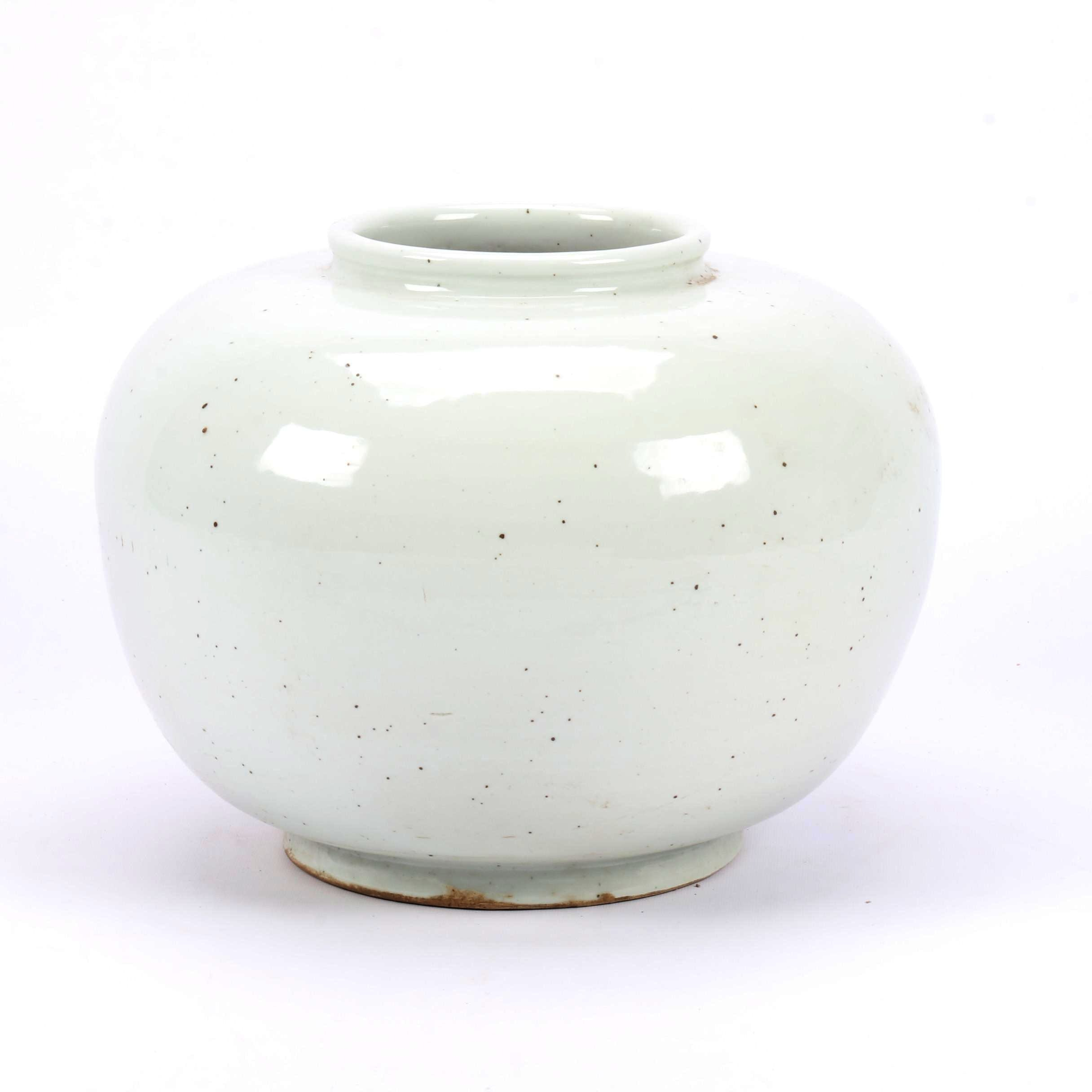 Large Chinese Monochrome Earthenware Vase