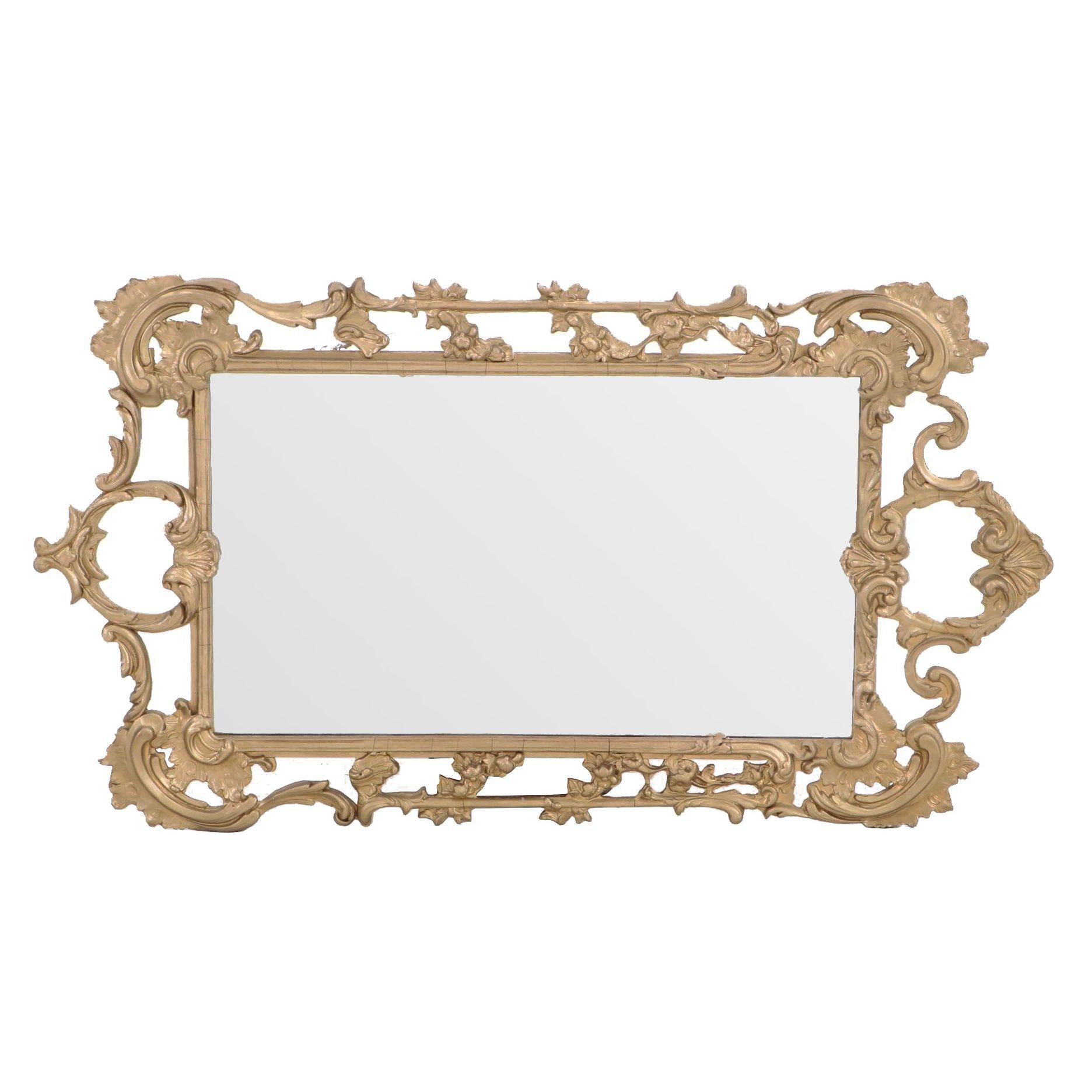 Peerart Gilt Rococo Style Mirror