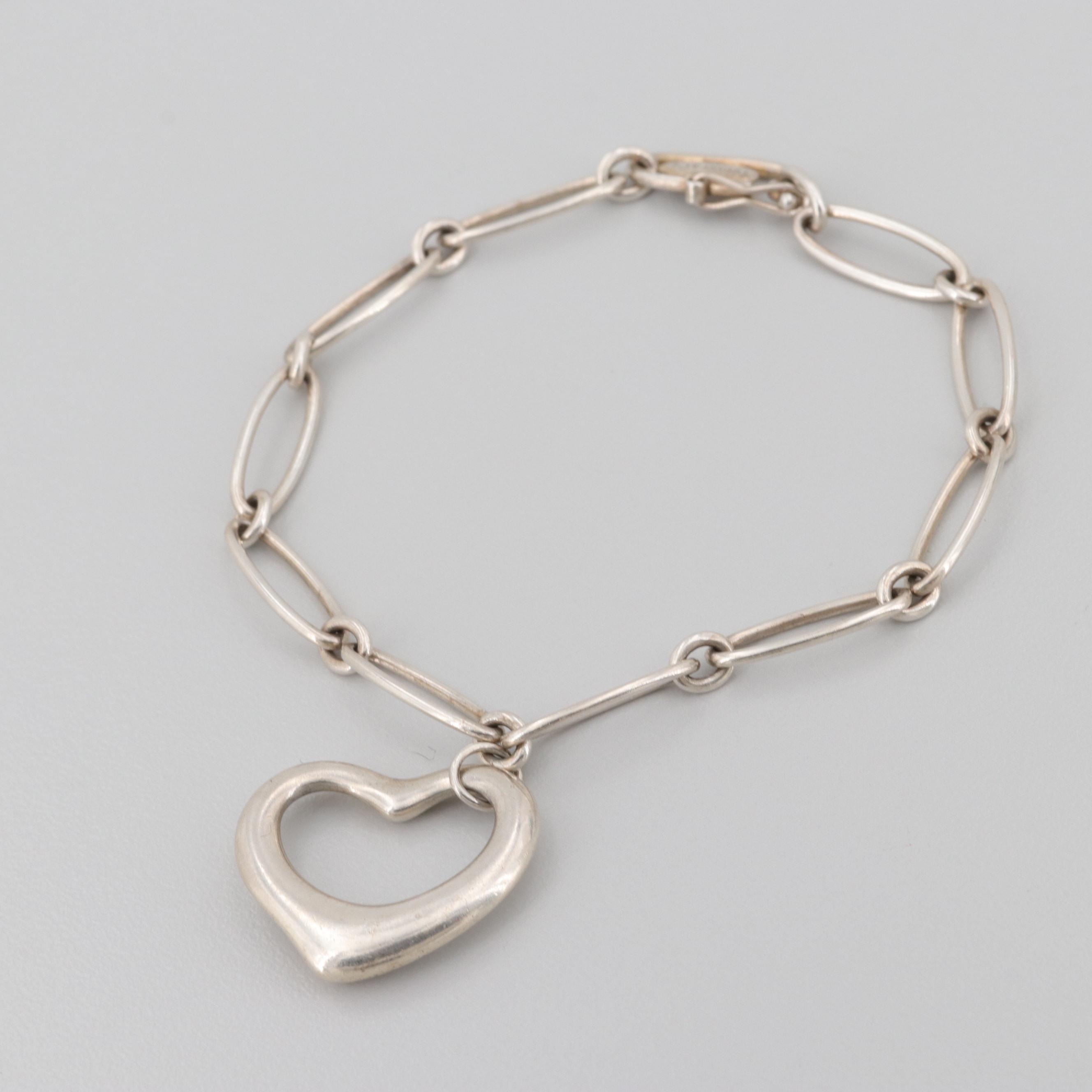 Elsa Peretti for Tiffany & Co. Sterling Silver Heart Bracelet