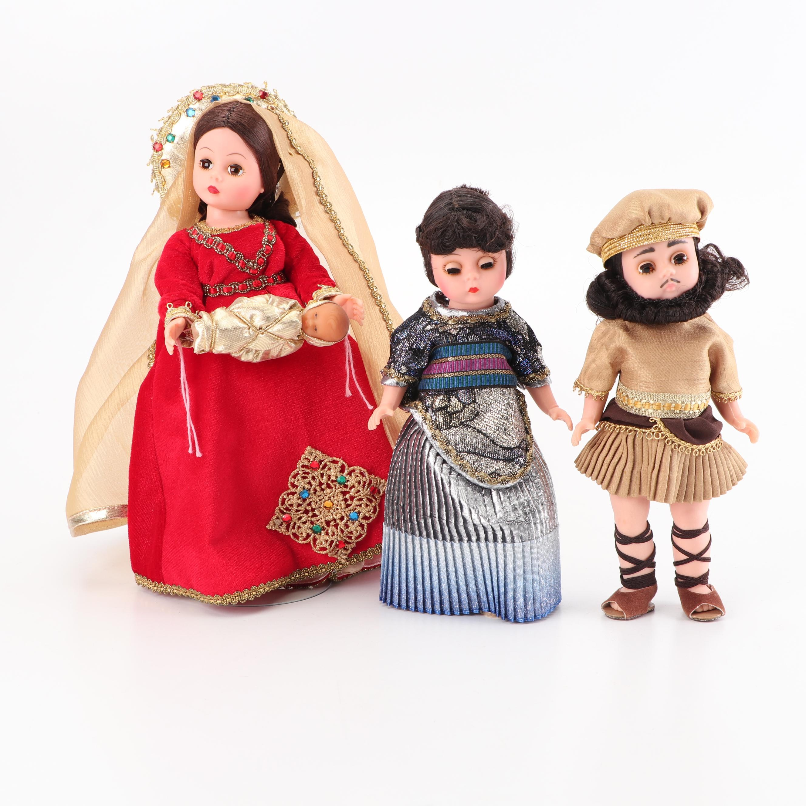 "Madame Alexander Dolls Including ""Delilah"" and ""Samson"""