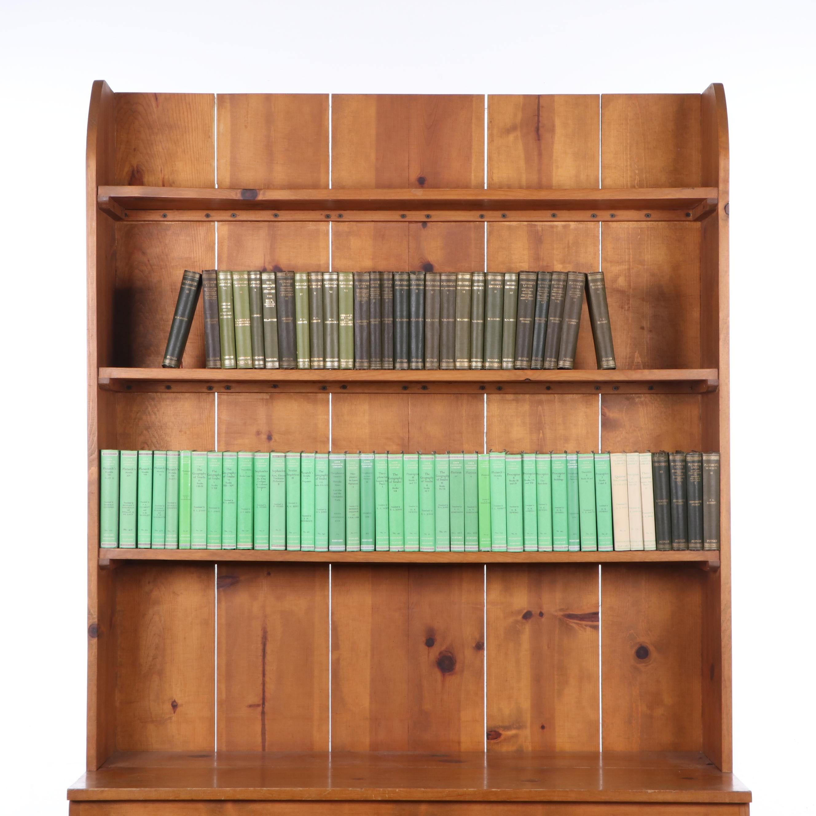 """""""The Loeb Classical Library"""" in Sixty-Eight Volumes, 20th Century"""