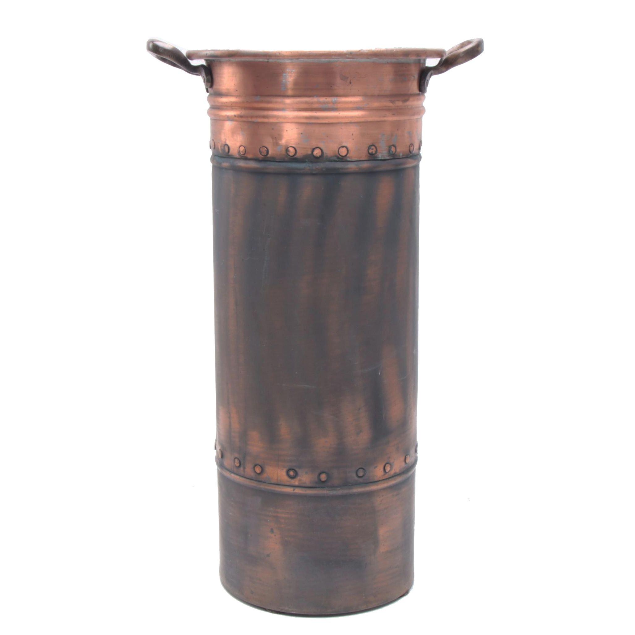 Copper Plate Umbrella Stand