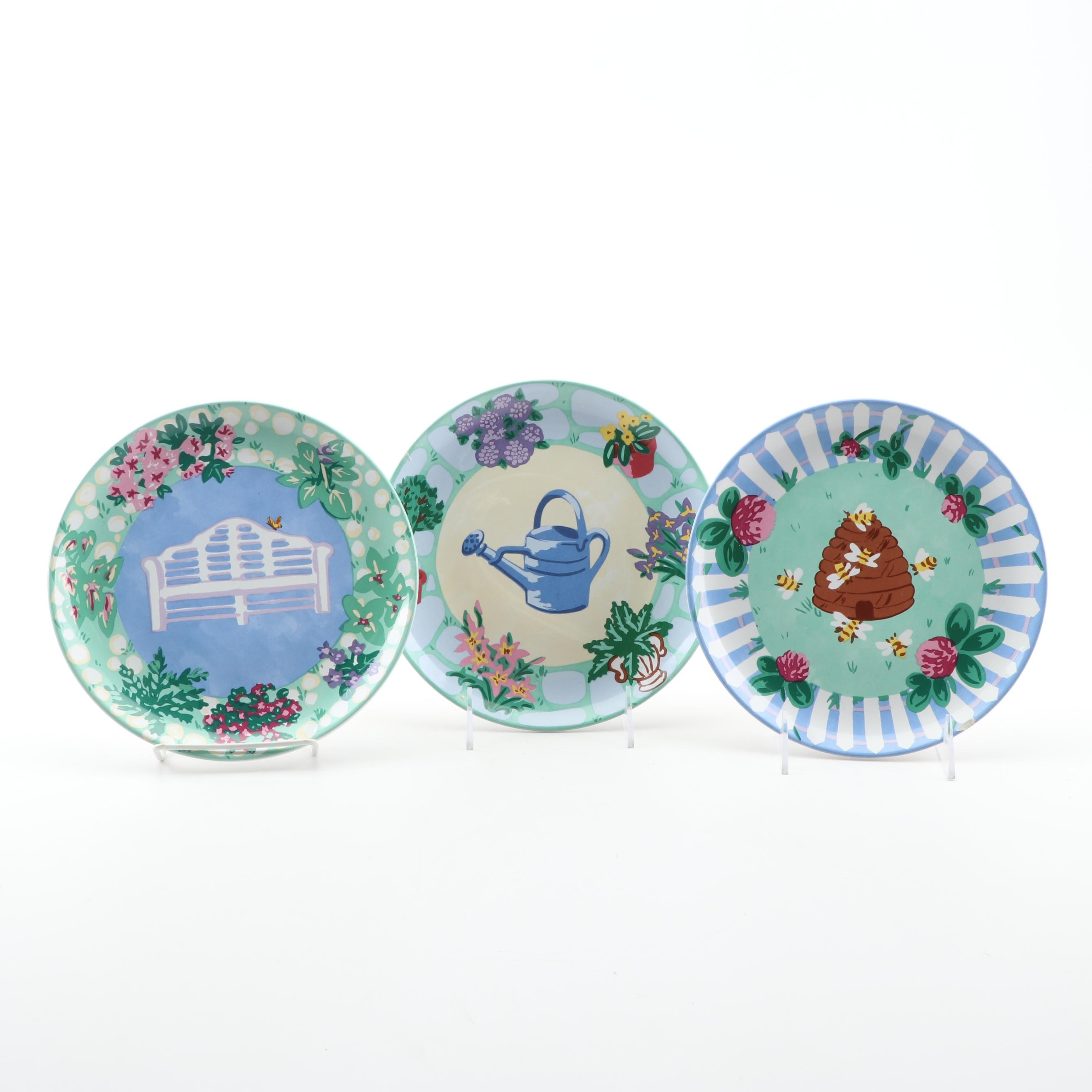 "The Essex Collection ""Garden Party"" Salad Plates"