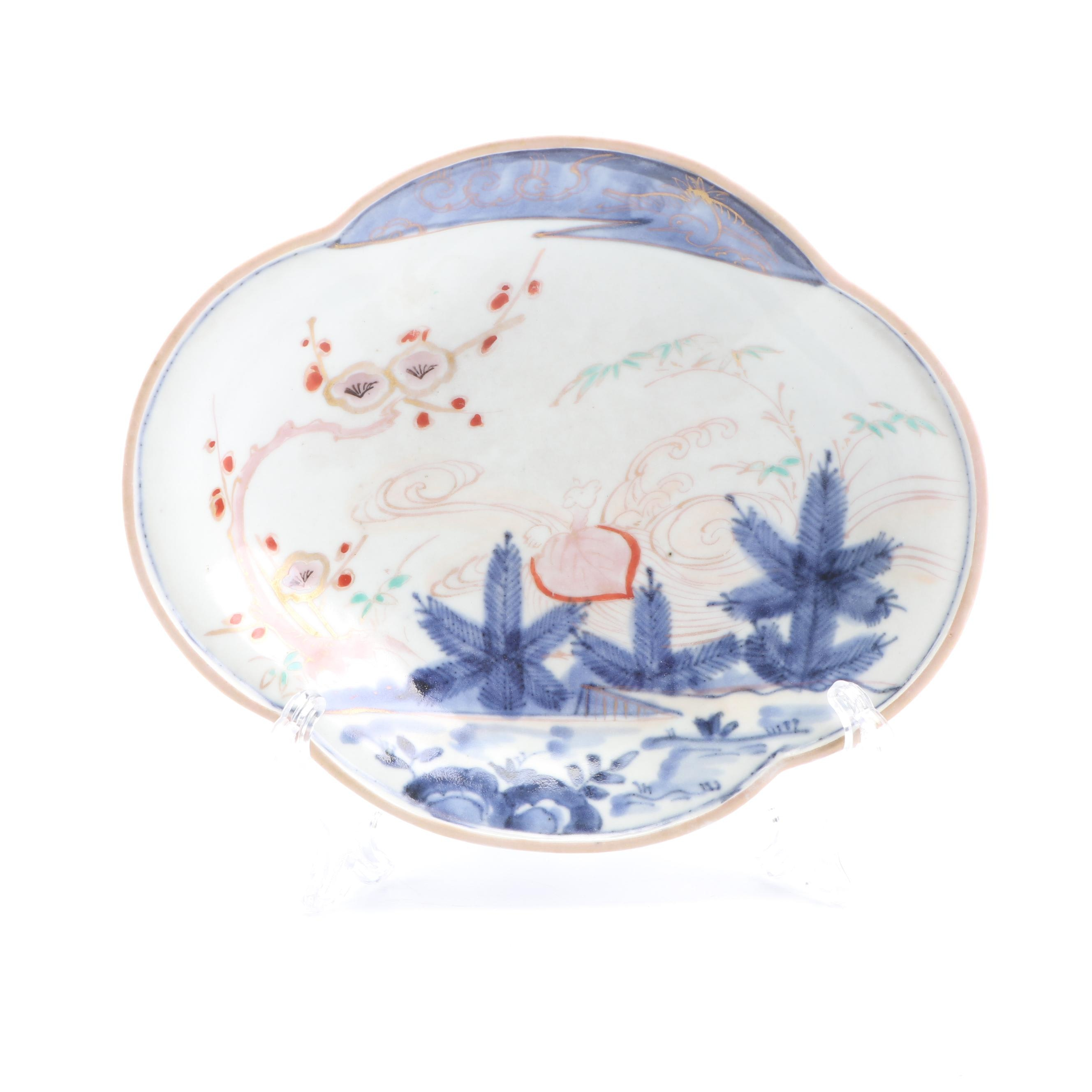 Japanese Imari Style Porcelain Bowl, 19th Century