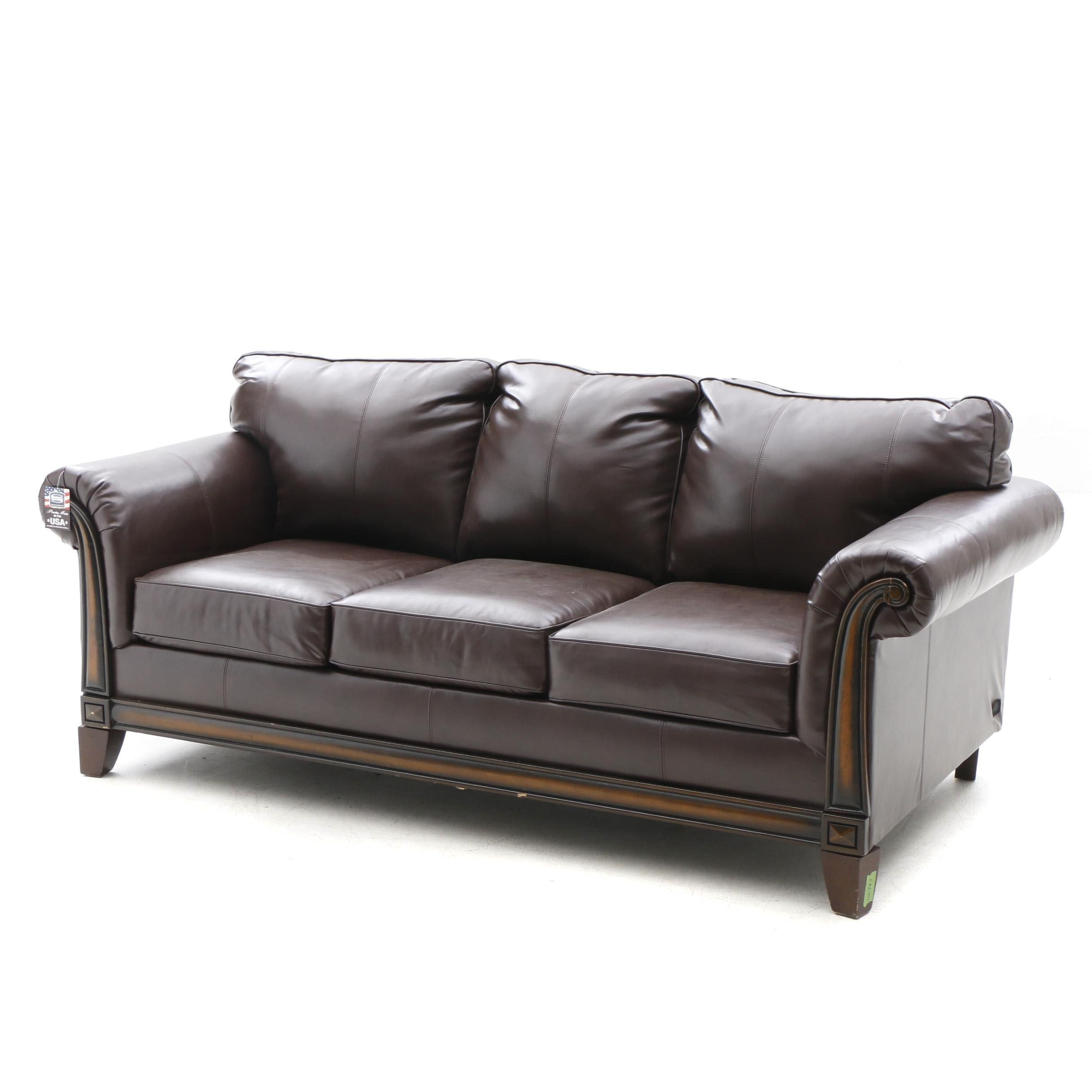 Contemporary King Sleeper Sofa by Simmons