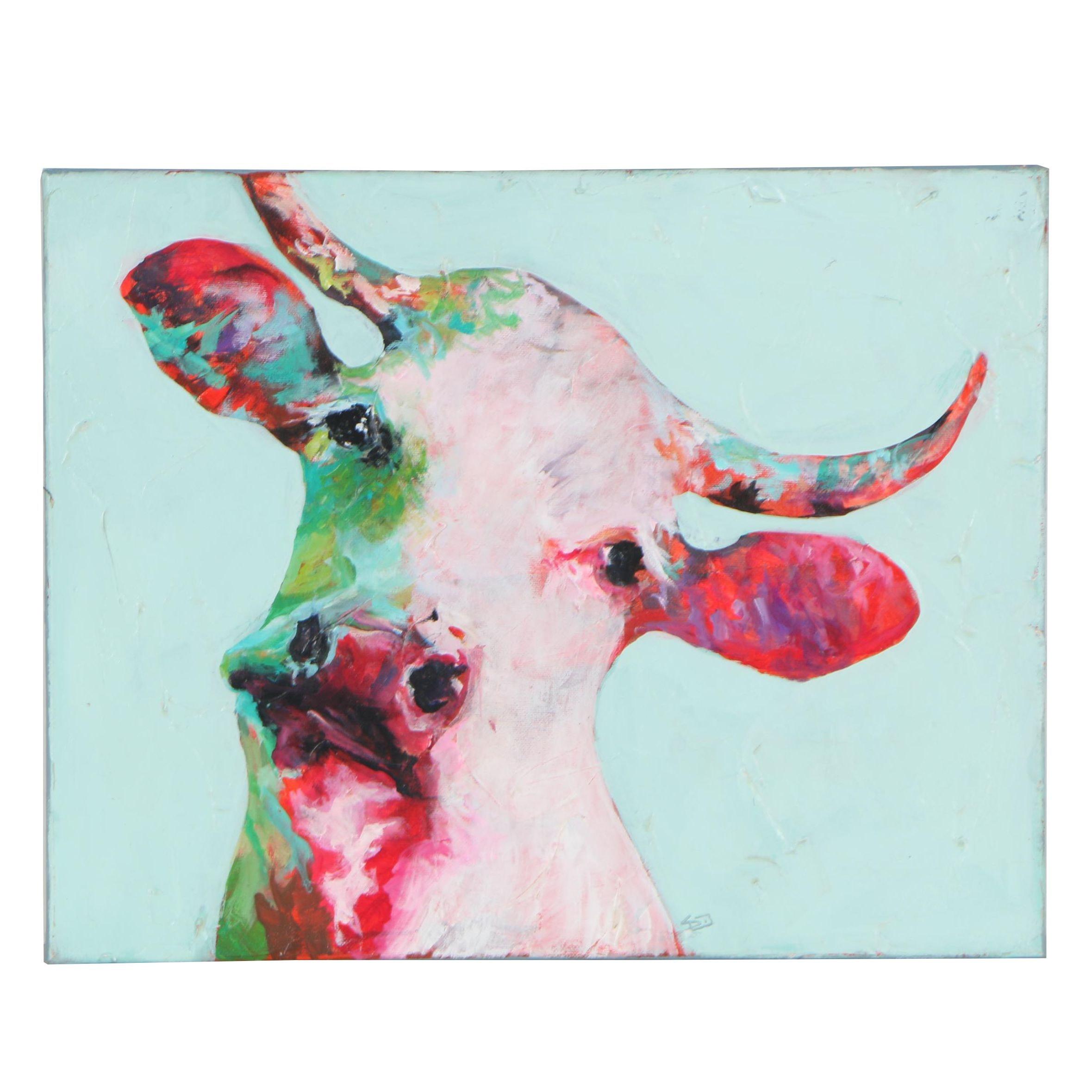 """Sue Dion Oil Painting """"Henrietta"""""""