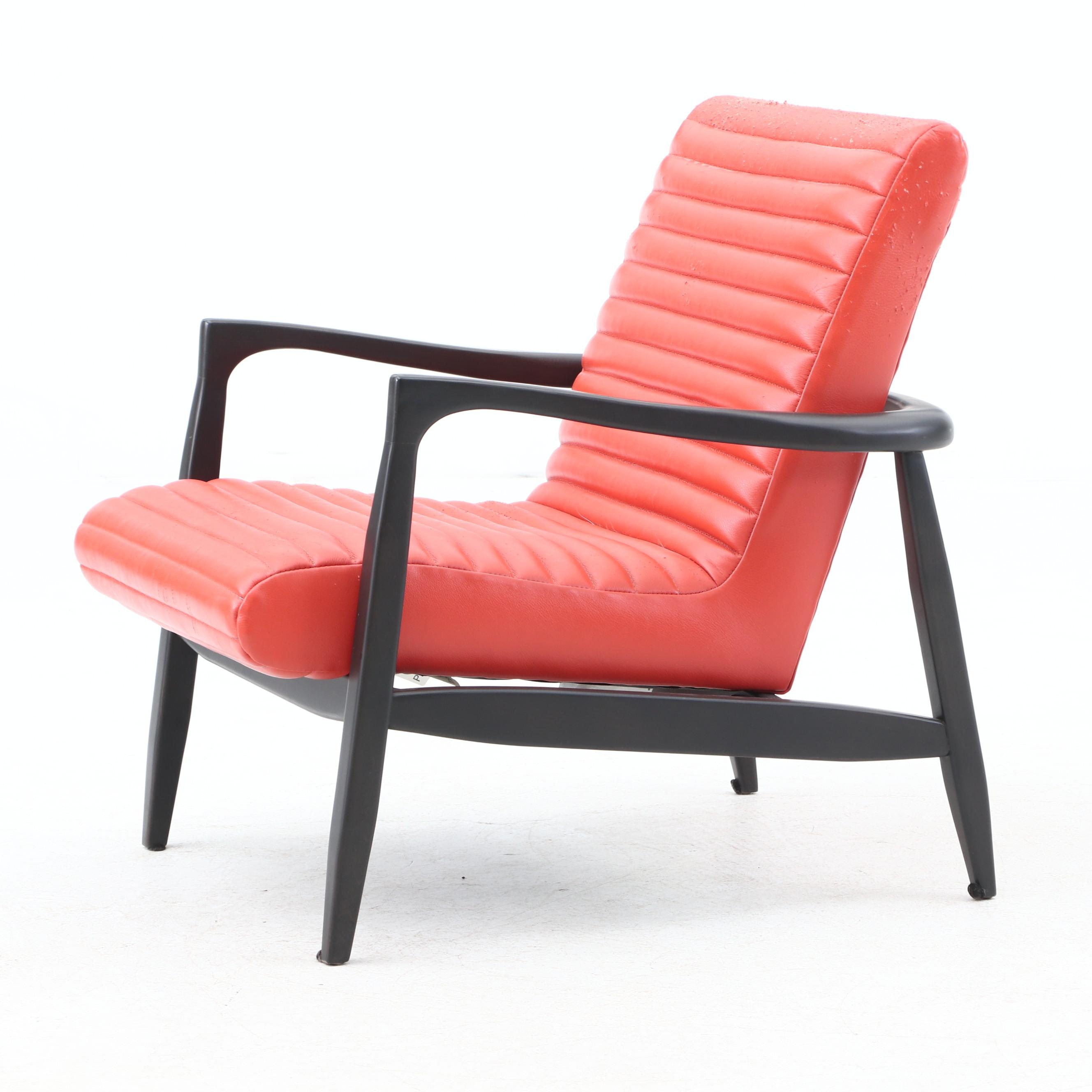 "Modernist ""Charco"" Armchair by Precedent Furniture"